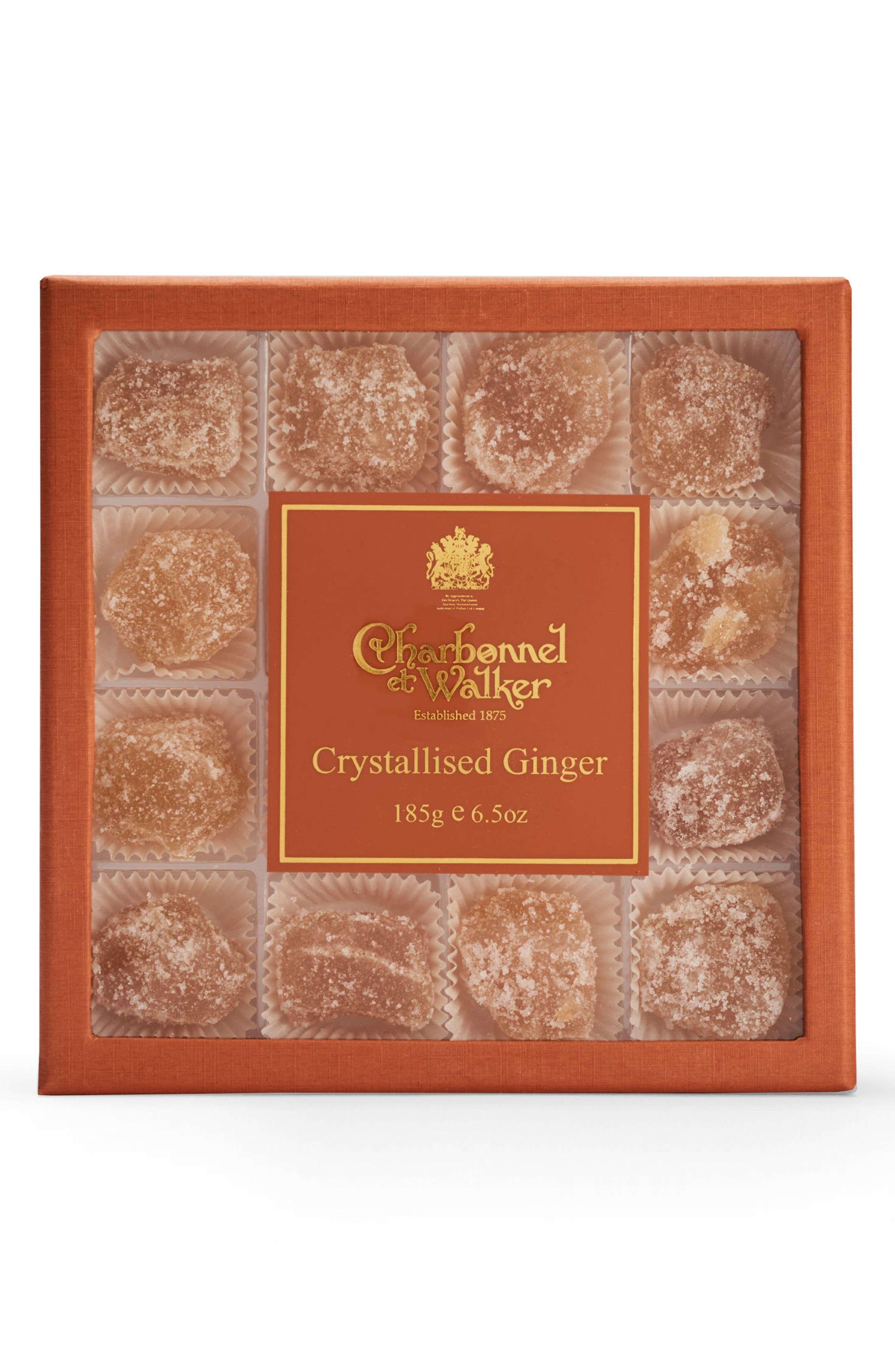 Crystallized Ginger Candies in Gift Box,                             Main thumbnail 1, color,