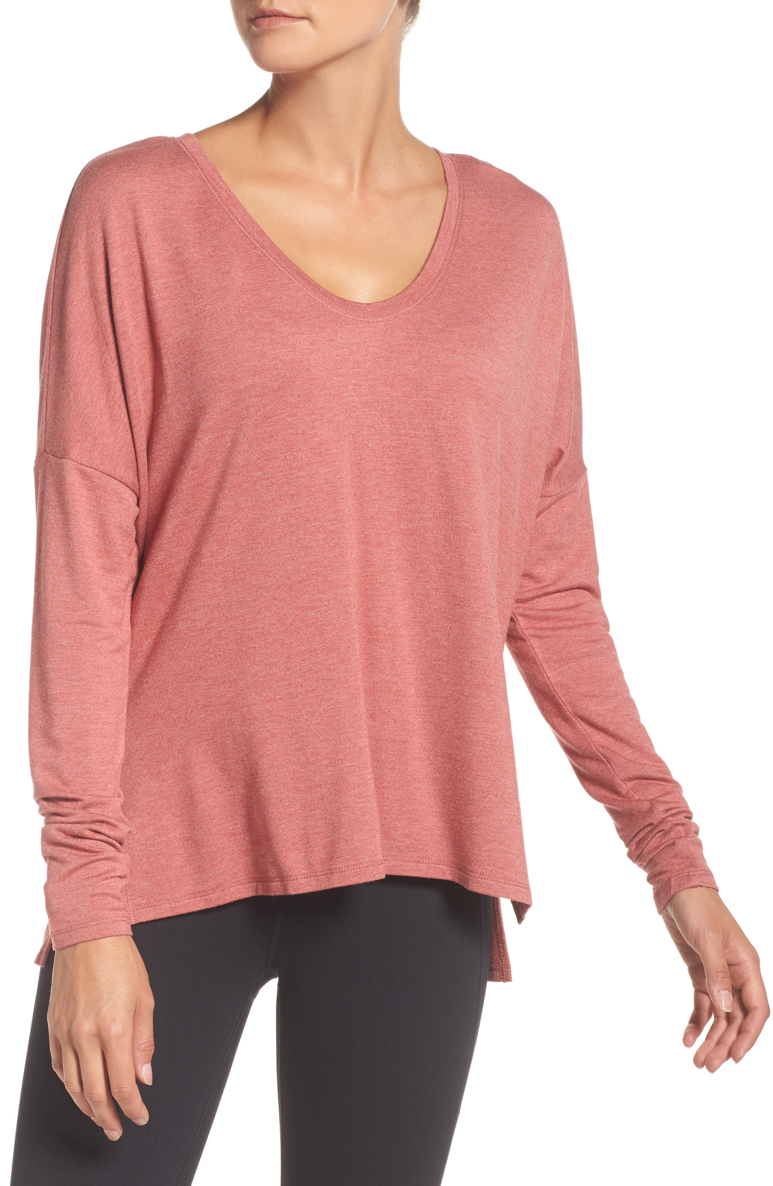 She's Cute Terry Pullover,                             Main thumbnail 2, color,