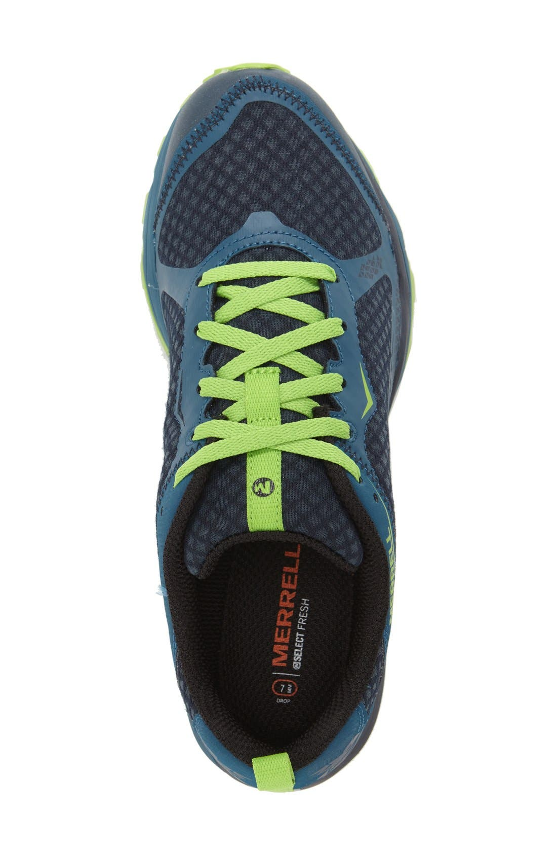 'All Out Crush Light' Trail Running Shoe,                             Alternate thumbnail 4, color,                             300