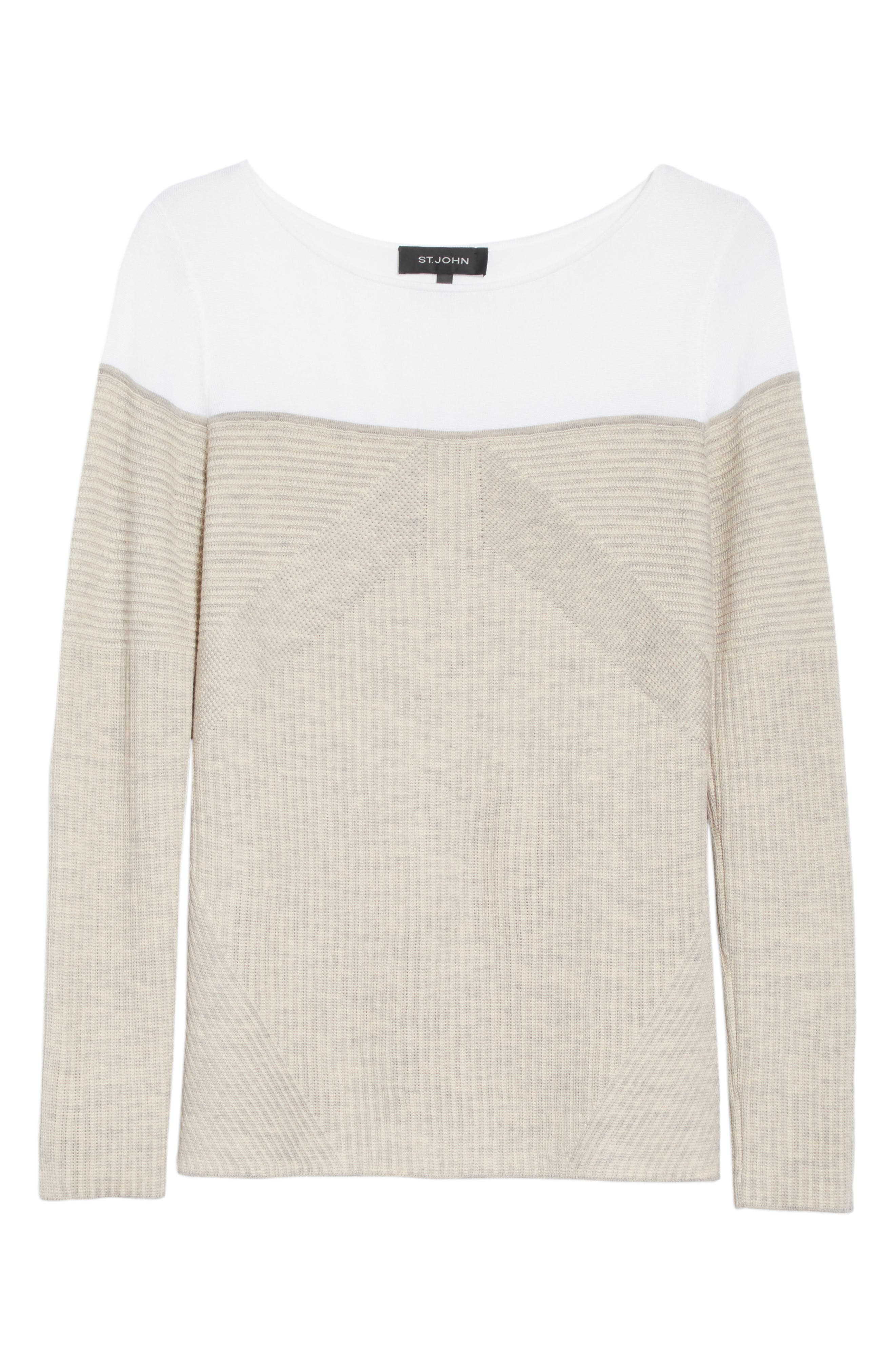 Tech Rib Knit Sweater,                             Alternate thumbnail 6, color,                             200