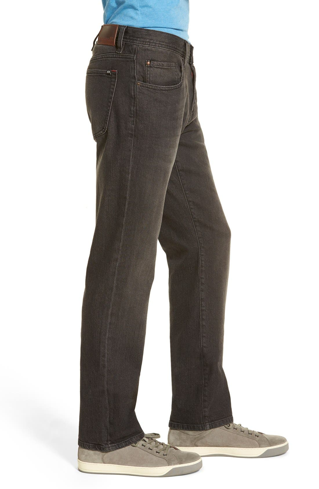'Duke' Relaxed Fit Jeans,                             Alternate thumbnail 3, color,                             002