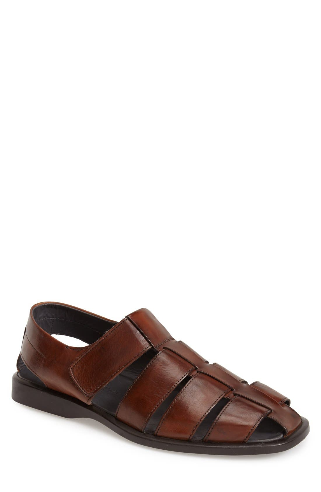 'Barbados' Fisherman Sandal,                         Main,                         color, 219