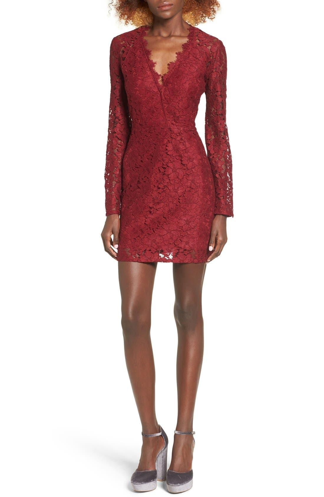 Say It Out Loud Lace Dress,                             Main thumbnail 4, color,