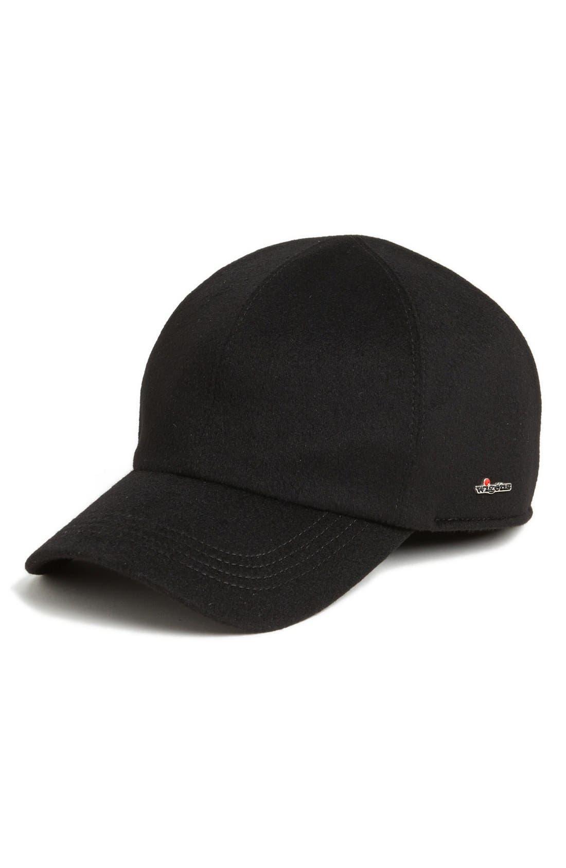 'Loro Piana Storm System' Earflap Baseball Cap,                         Main,                         color, 001