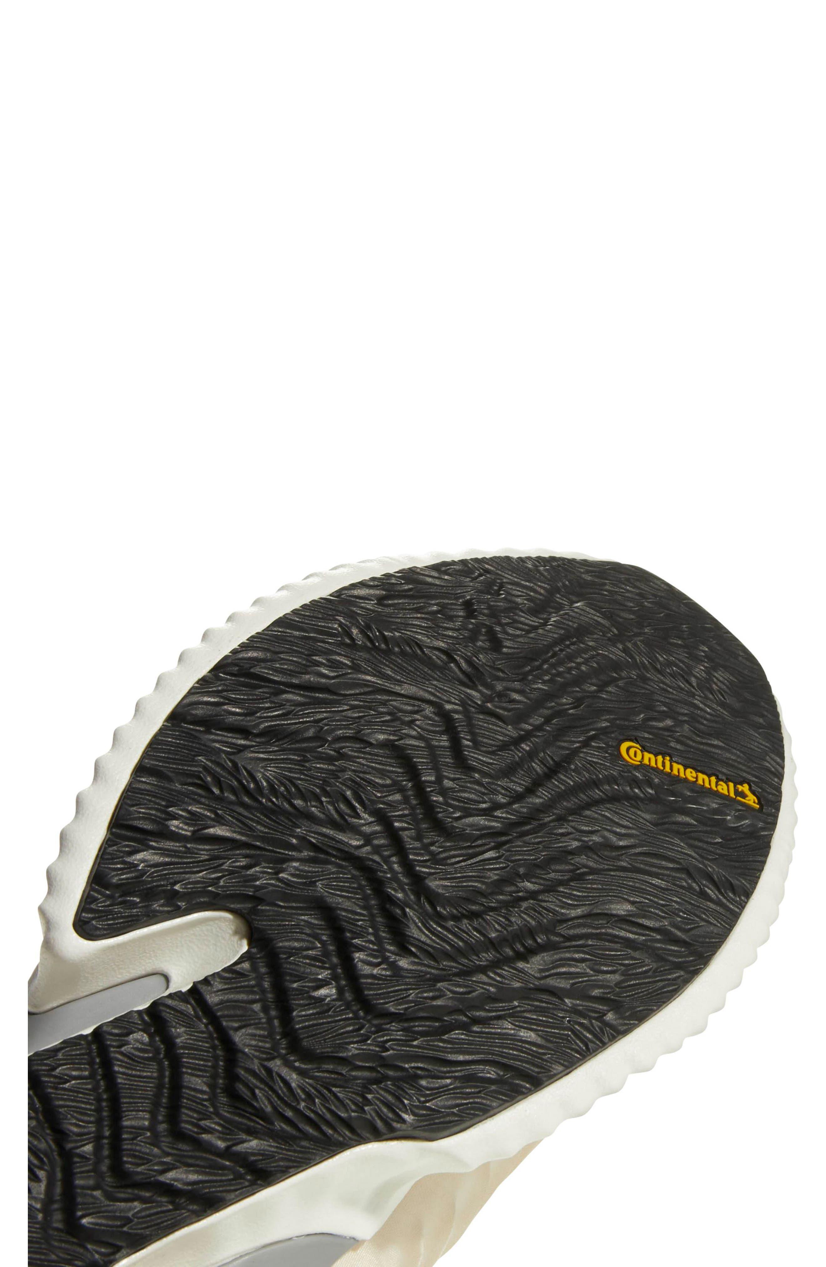 AlphaBounce Instinct Running Shoe,                             Alternate thumbnail 5, color,                             LINEN / CLOUD WHITE / GREY