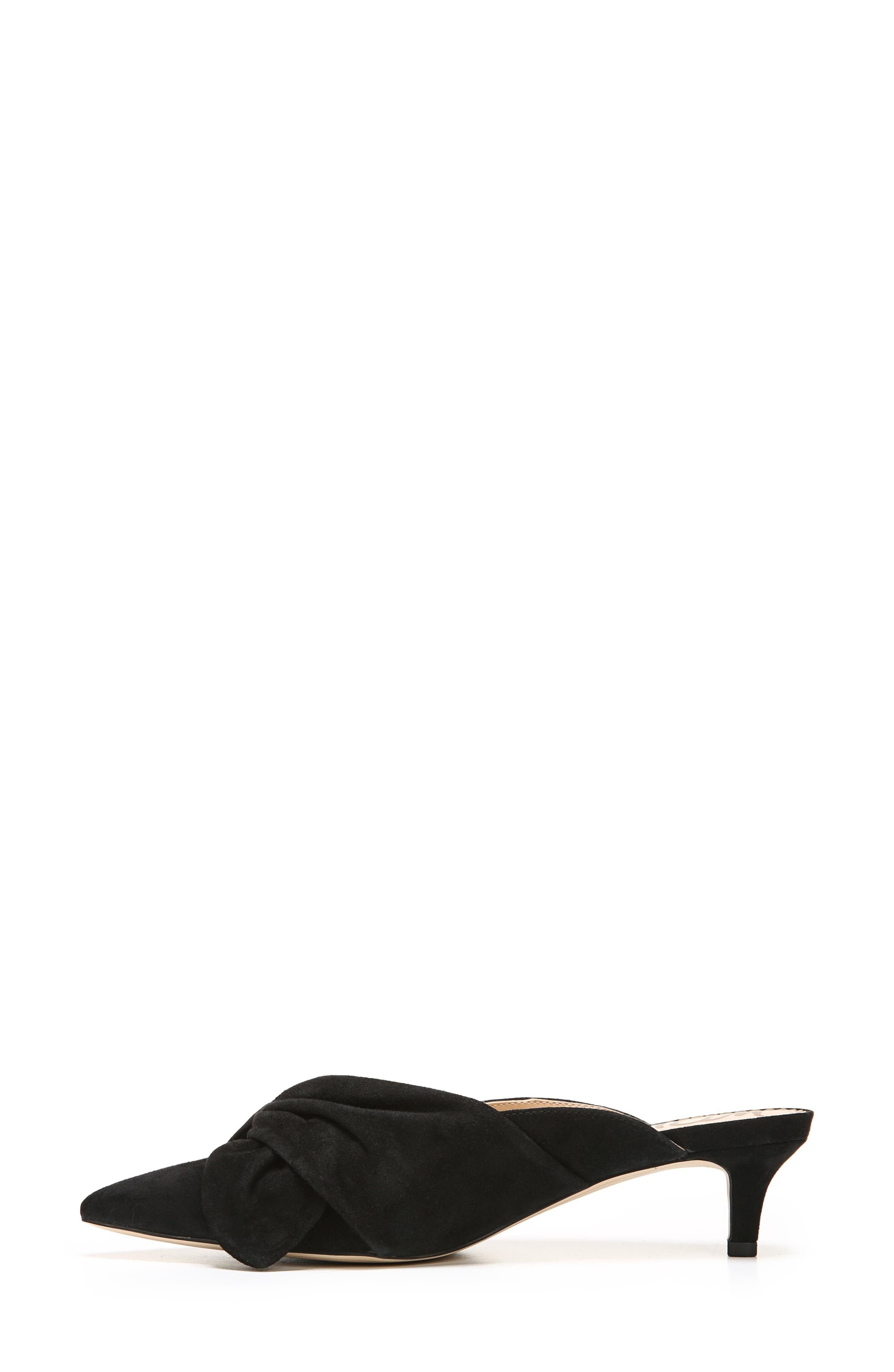 Laney Pointy Toe Mule,                             Alternate thumbnail 3, color,                             001