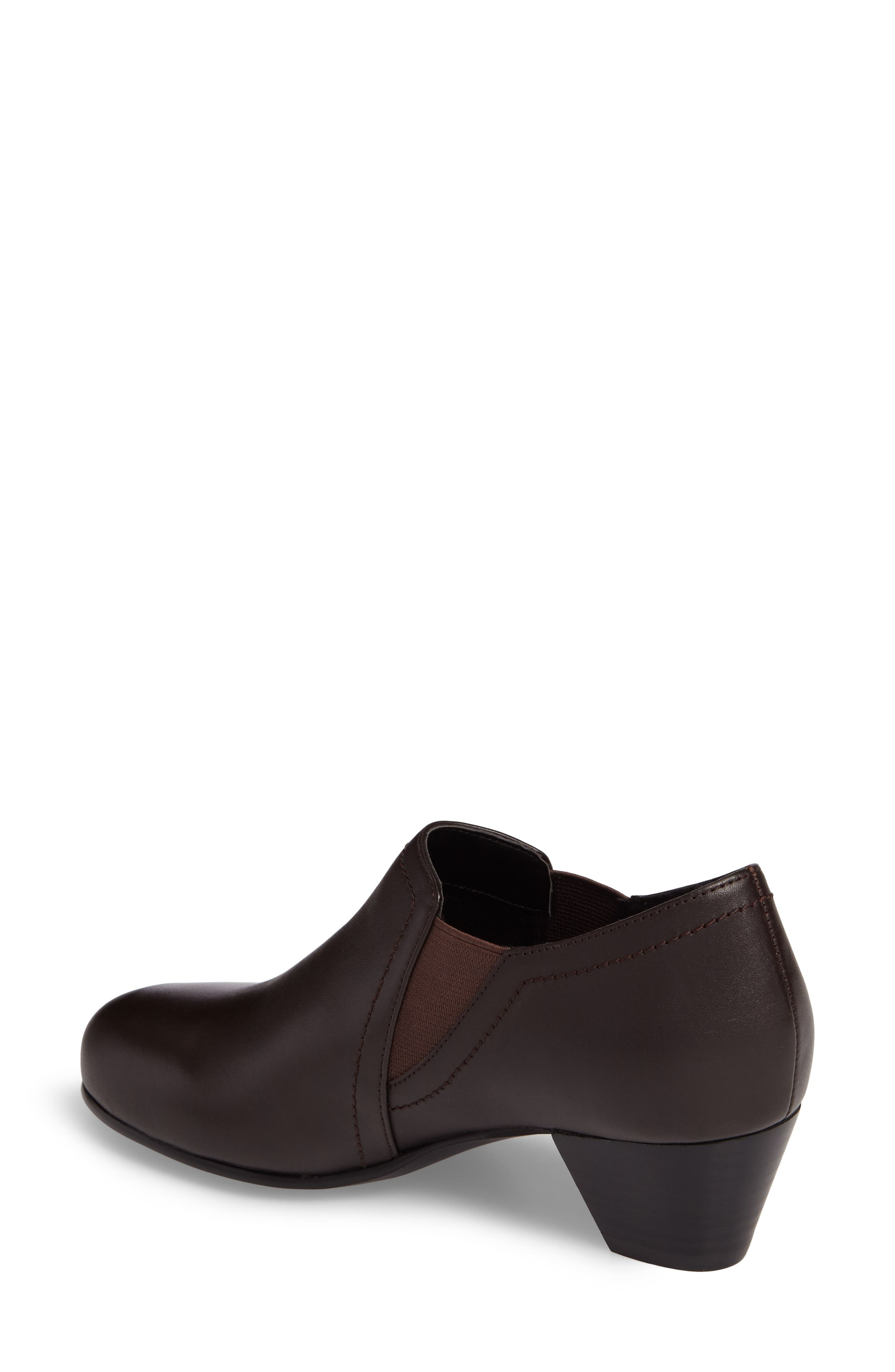 Maple Bootie,                             Alternate thumbnail 2, color,                             BROWN LEATHER