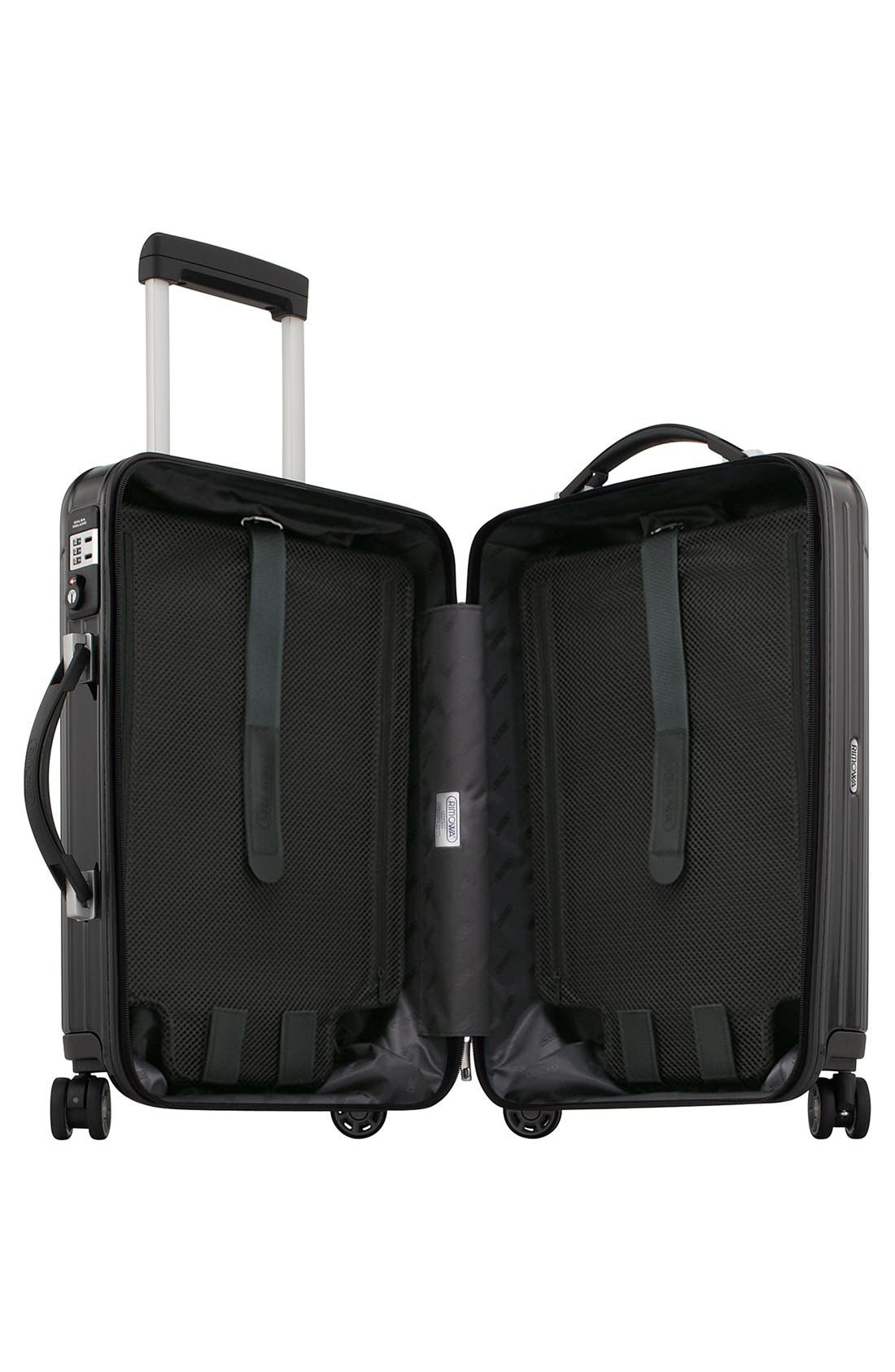 Salsa 22-Inch Deluxe Cabin Multiwheel<sup>®</sup> Carry-On,                             Alternate thumbnail 2, color,                             001