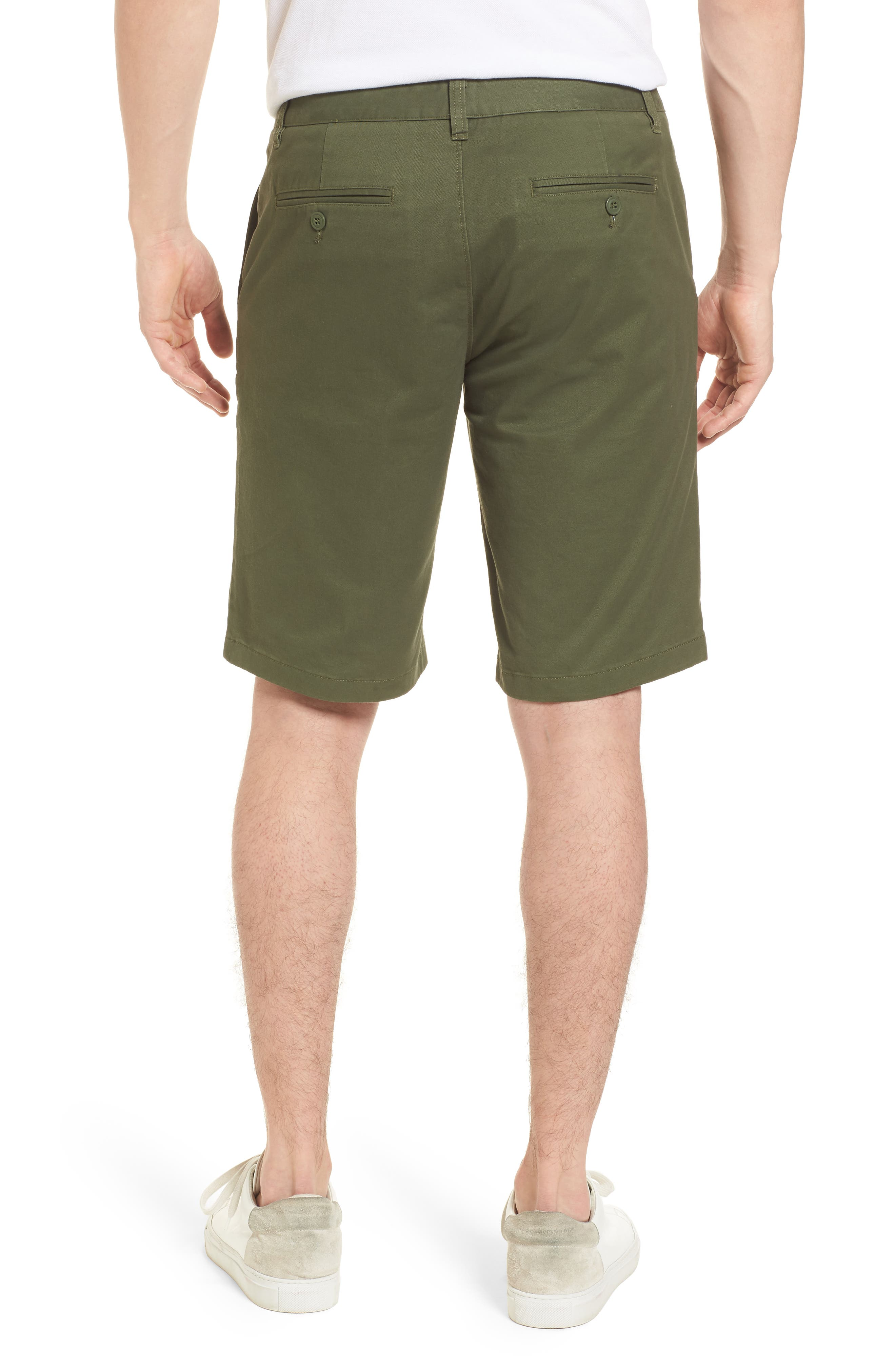 Stretch Washed Chino 11-Inch Shorts,                             Alternate thumbnail 13, color,