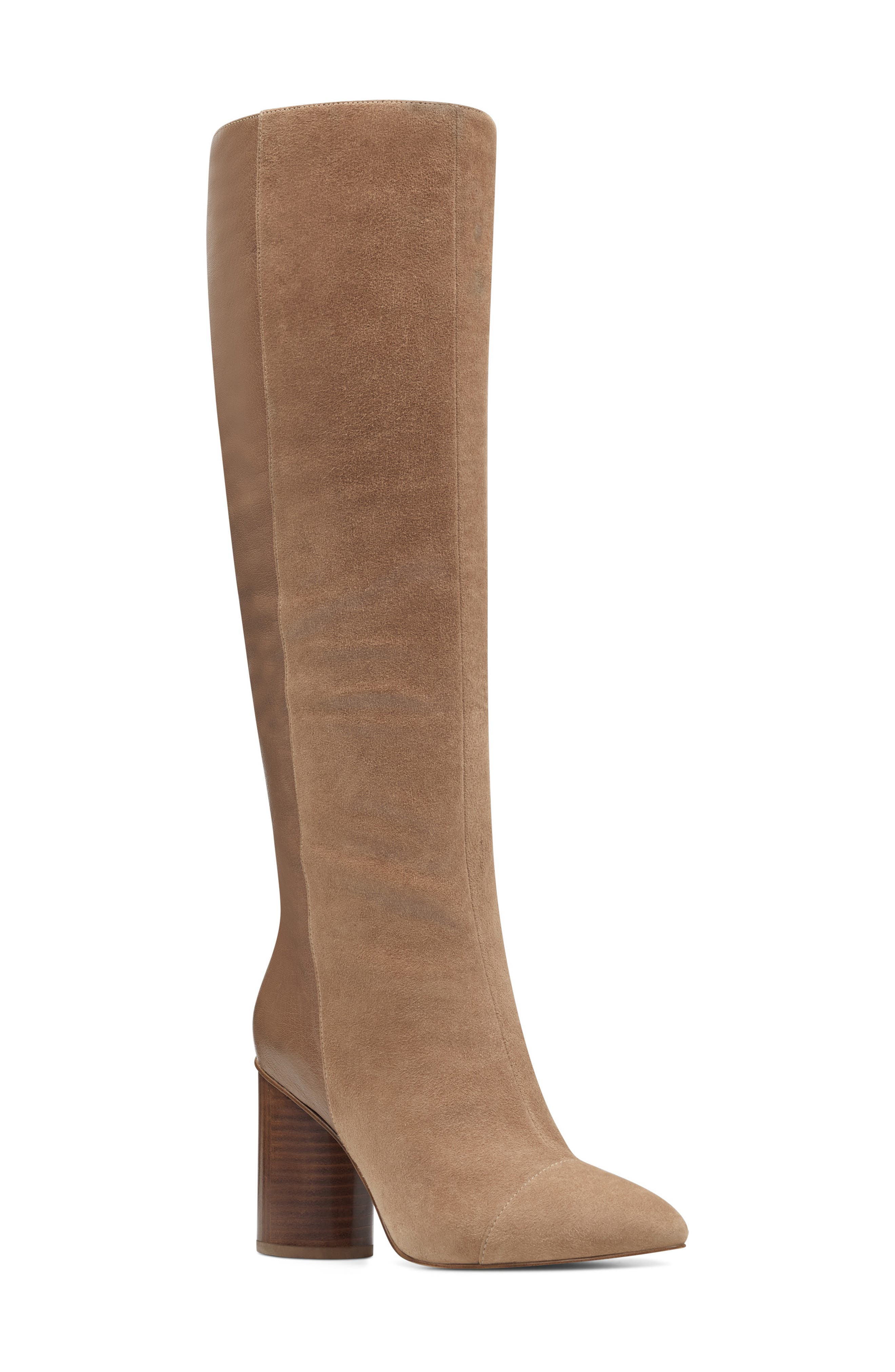 Nine West Cheyin Cap Toe Knee High Boot