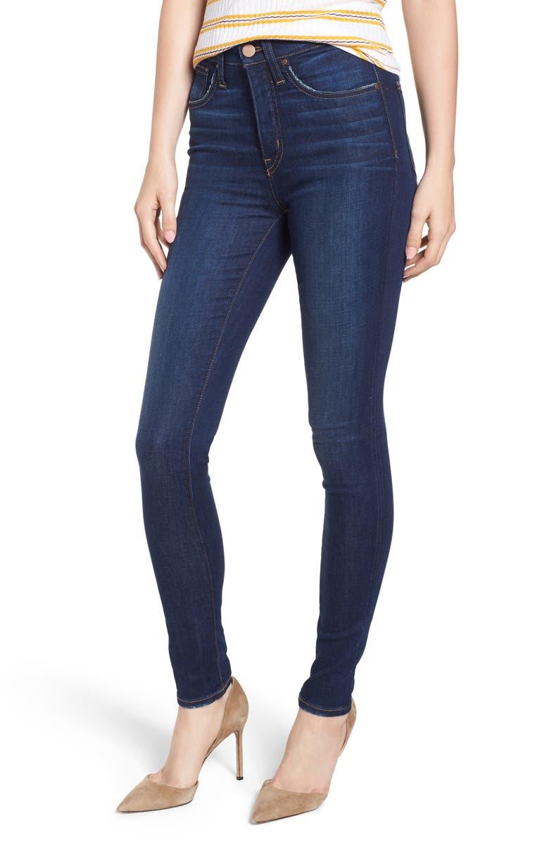 9190b372b7e4f Caslon® Sierra High Waist Skinny Jeans (River) (Regular   Petite ...