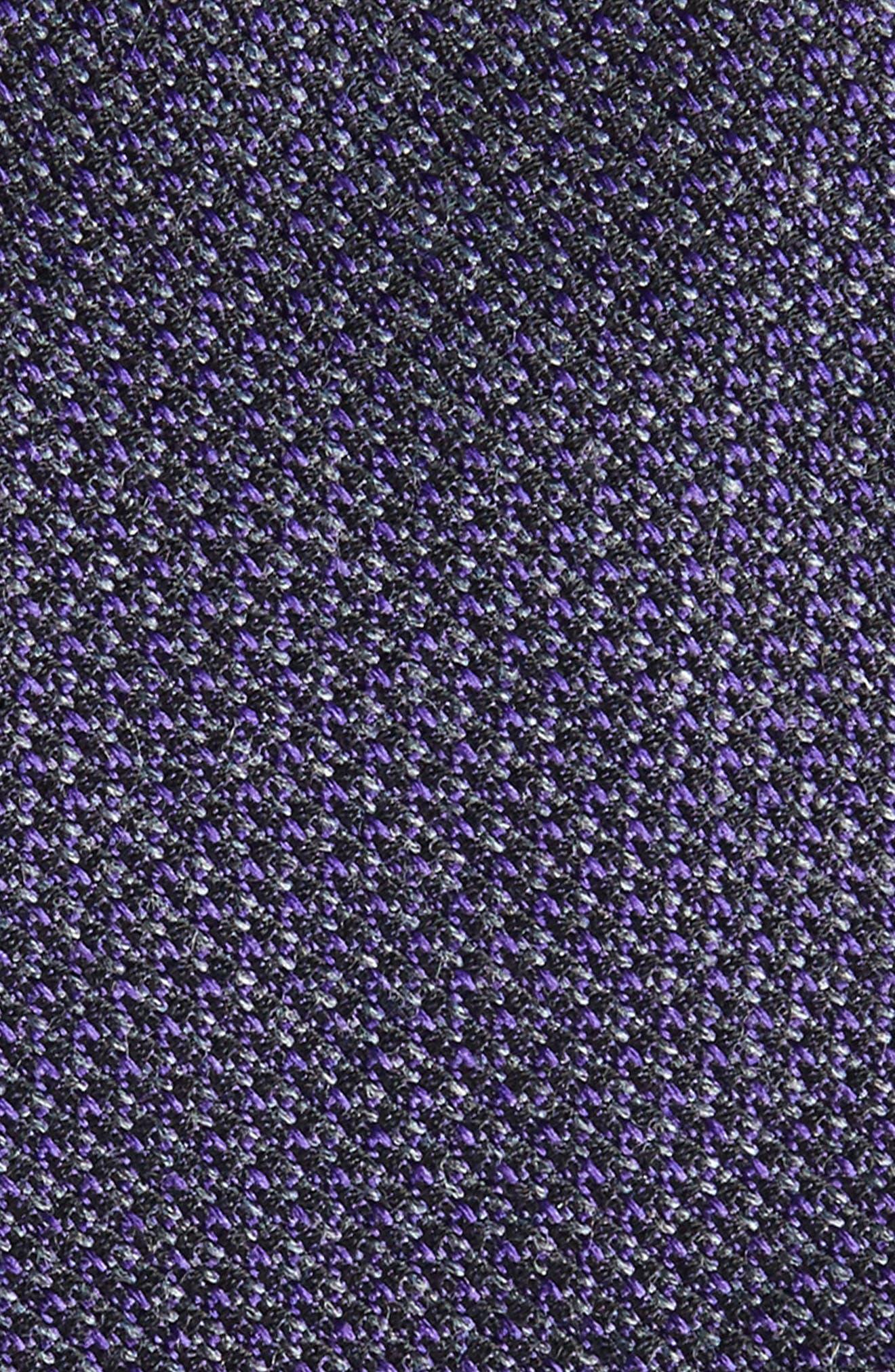 Kenton Textured Silk Blend Skinny Tie,                             Alternate thumbnail 9, color,