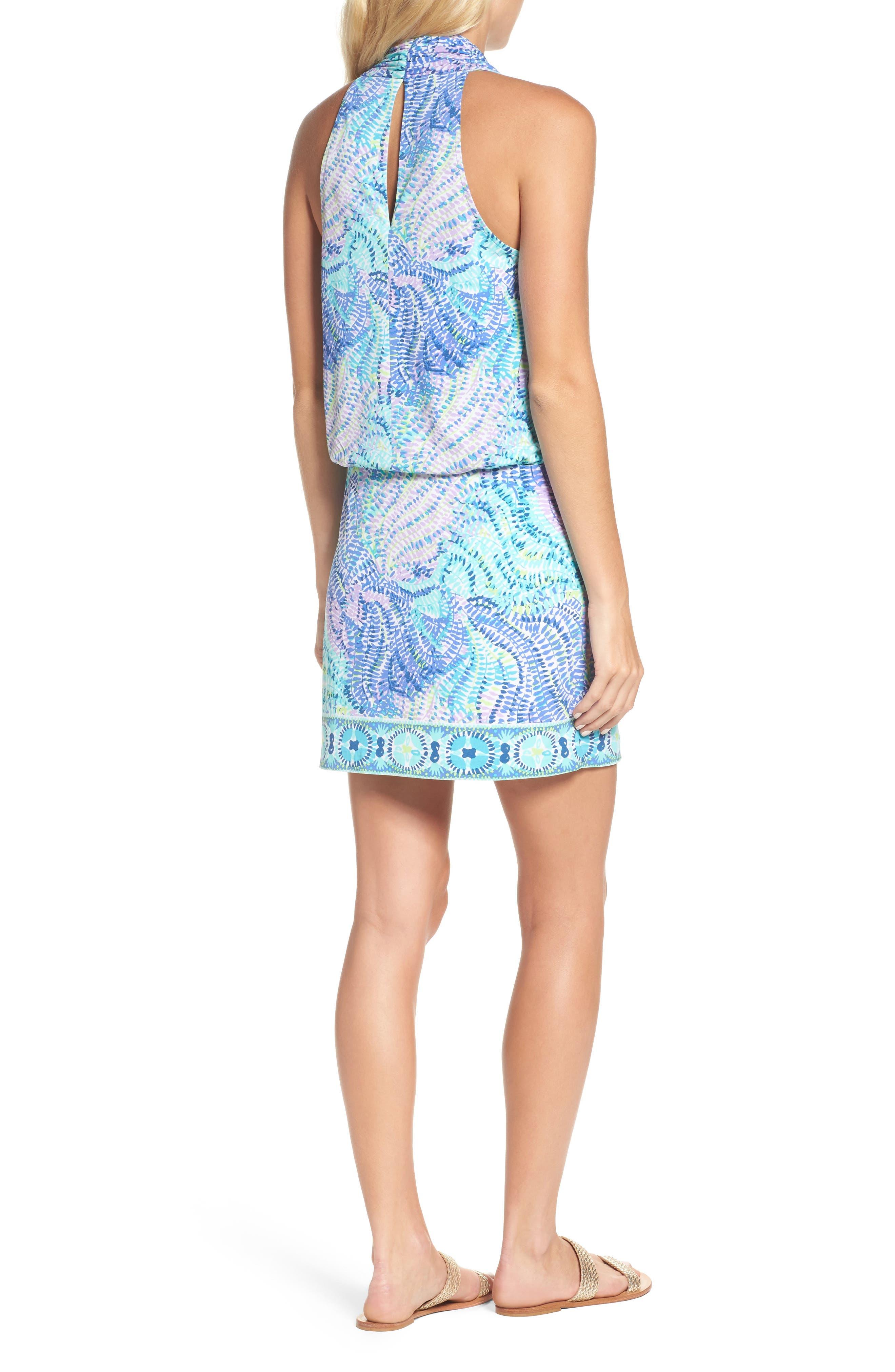 Felizia Blouson Dress,                             Alternate thumbnail 2, color,                             444
