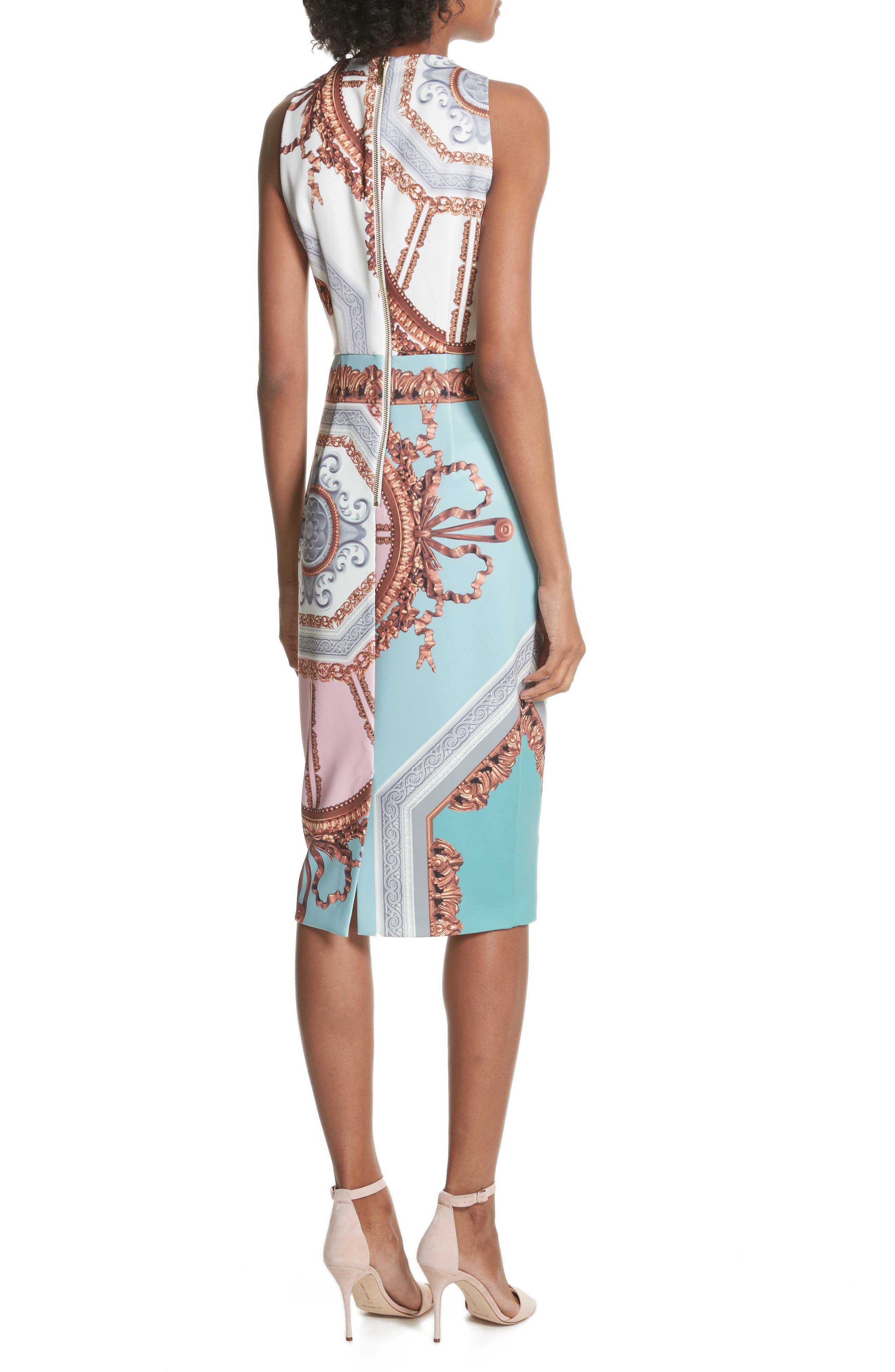 Orlla Embellished Midi Dress,                             Alternate thumbnail 2, color,                             440