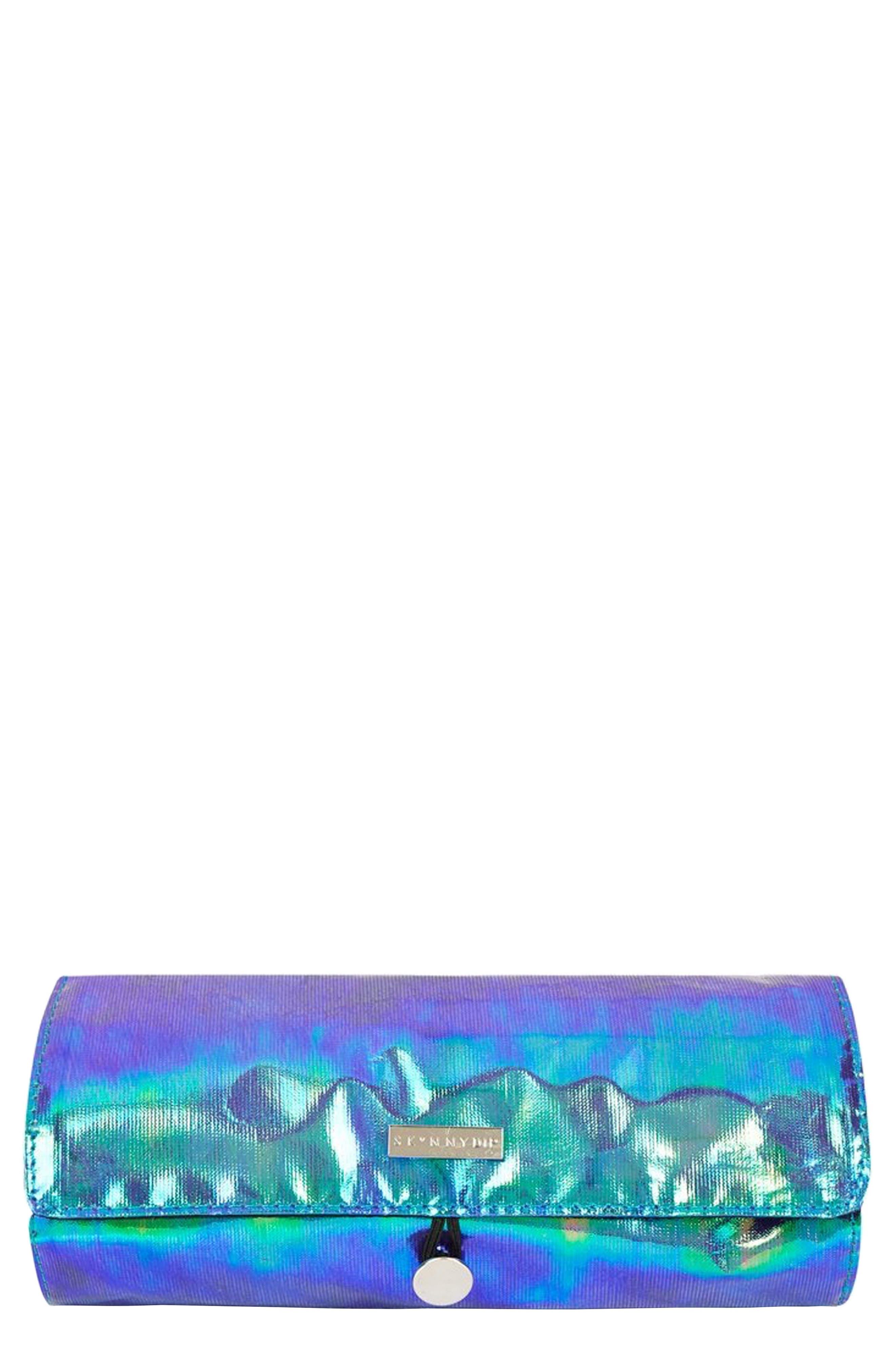 SKINNYDIP,                             Mermaid Makeup Roll,                             Main thumbnail 1, color,                             000