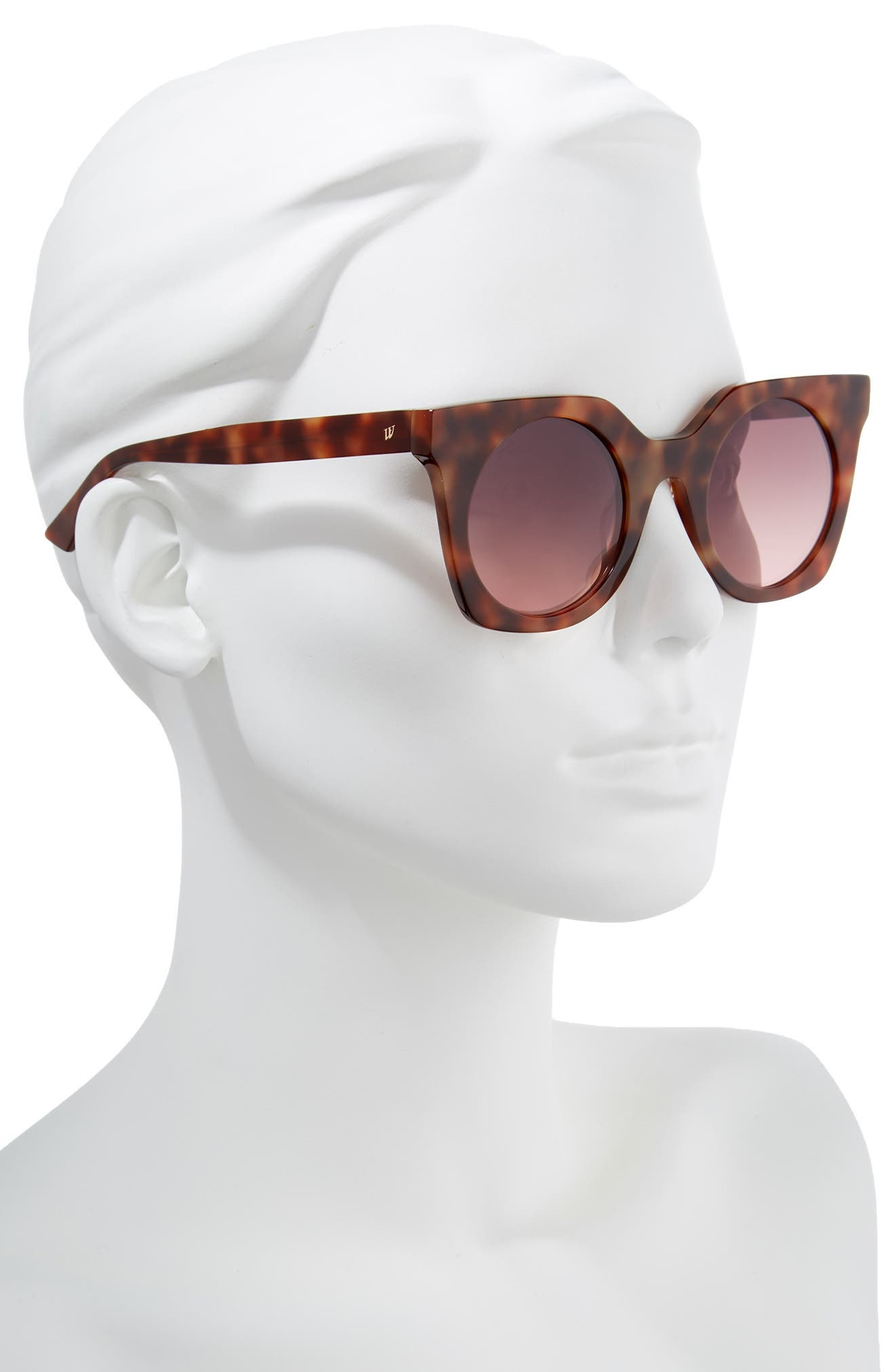 48mm Sunglasses,                             Alternate thumbnail 2, color,                             BLONDE HAVANA/ GRADIENT
