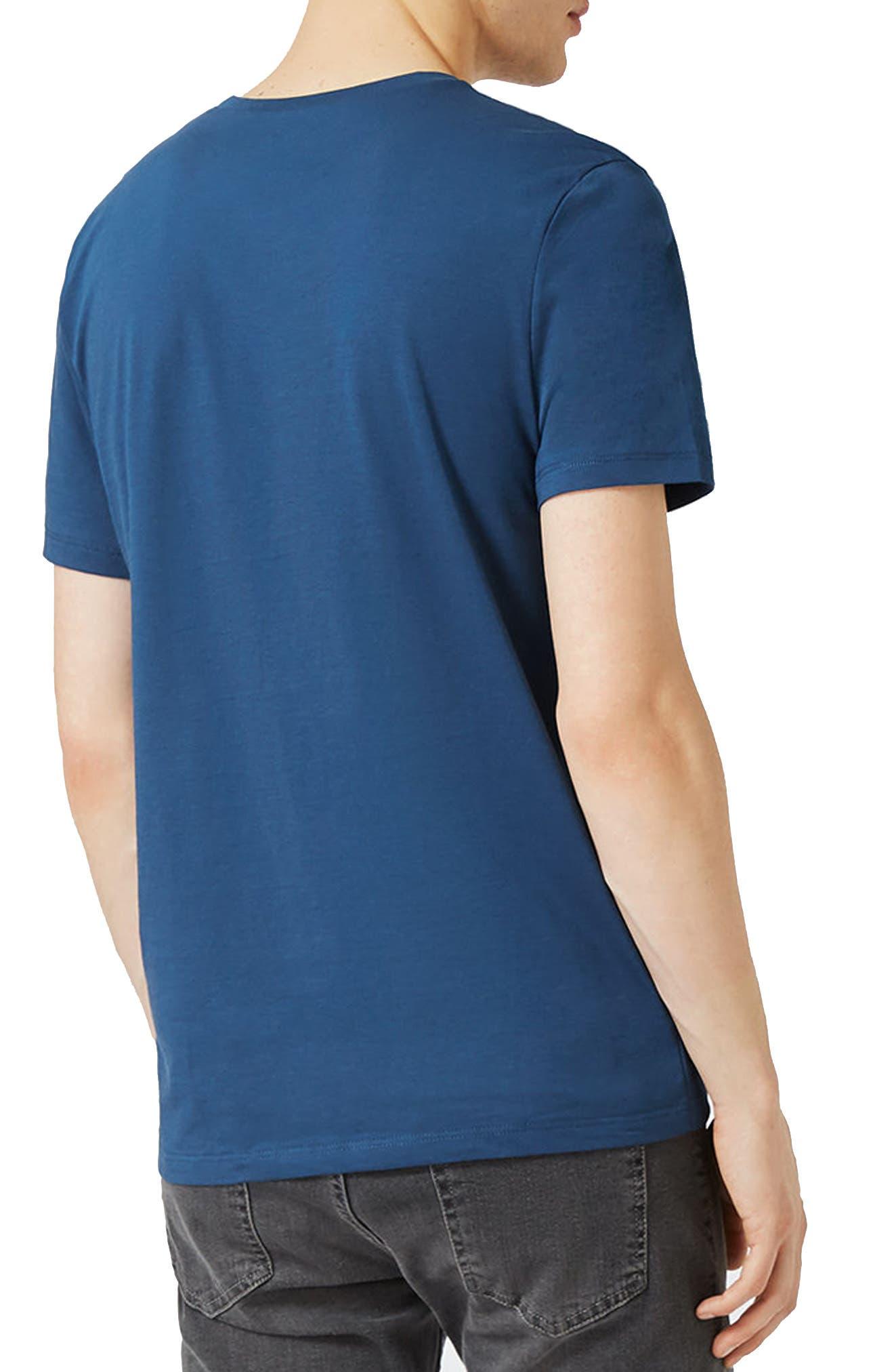 Slim Fit Crewneck T-Shirt,                             Alternate thumbnail 158, color,