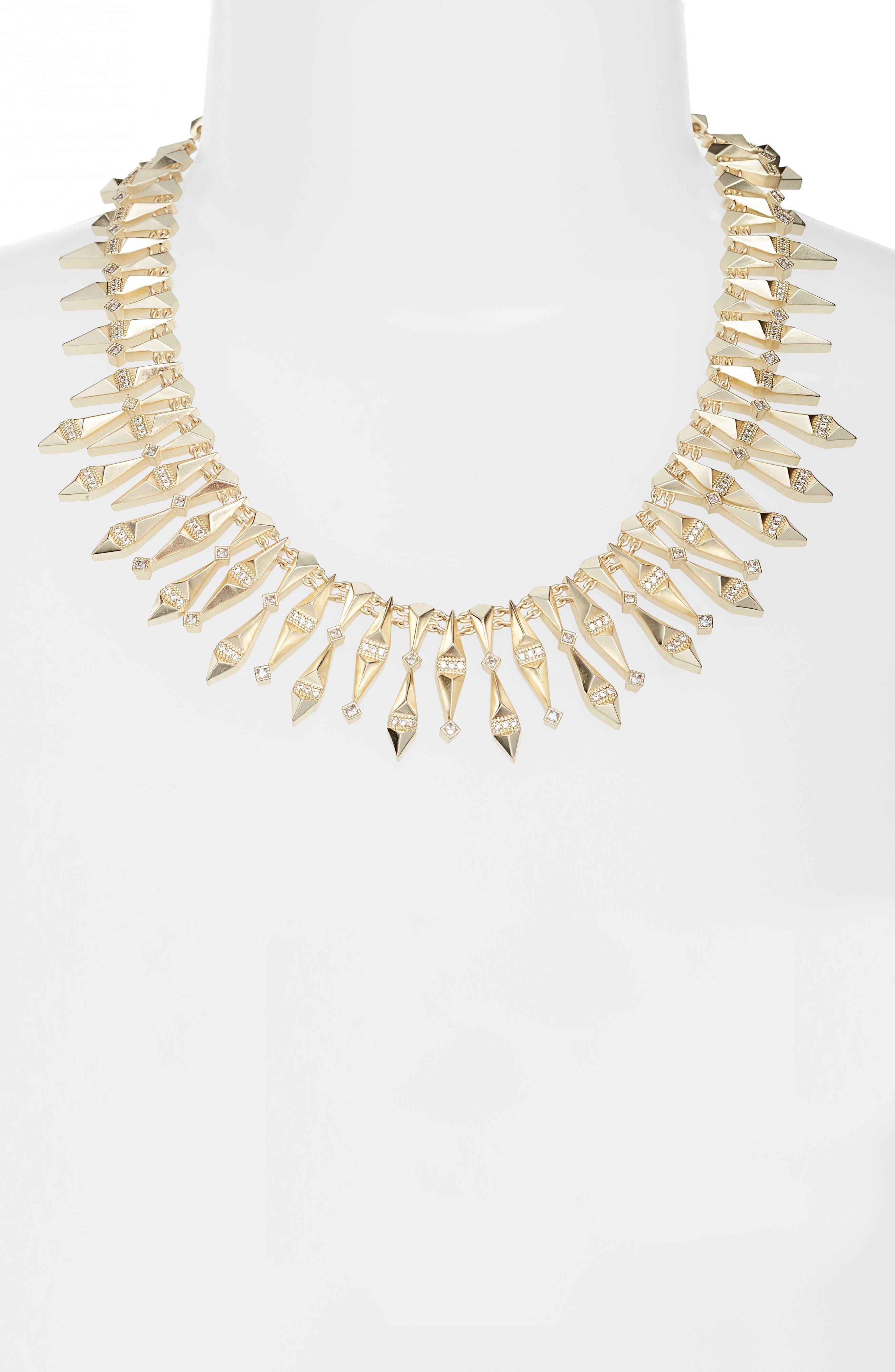 Cici Collar Necklace,                             Alternate thumbnail 6, color,