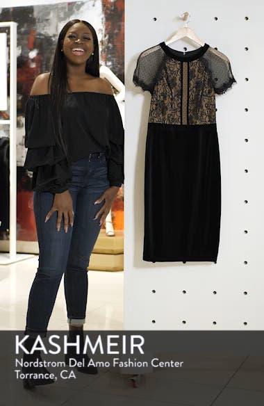 Lace & Velvet Dress, sales video thumbnail