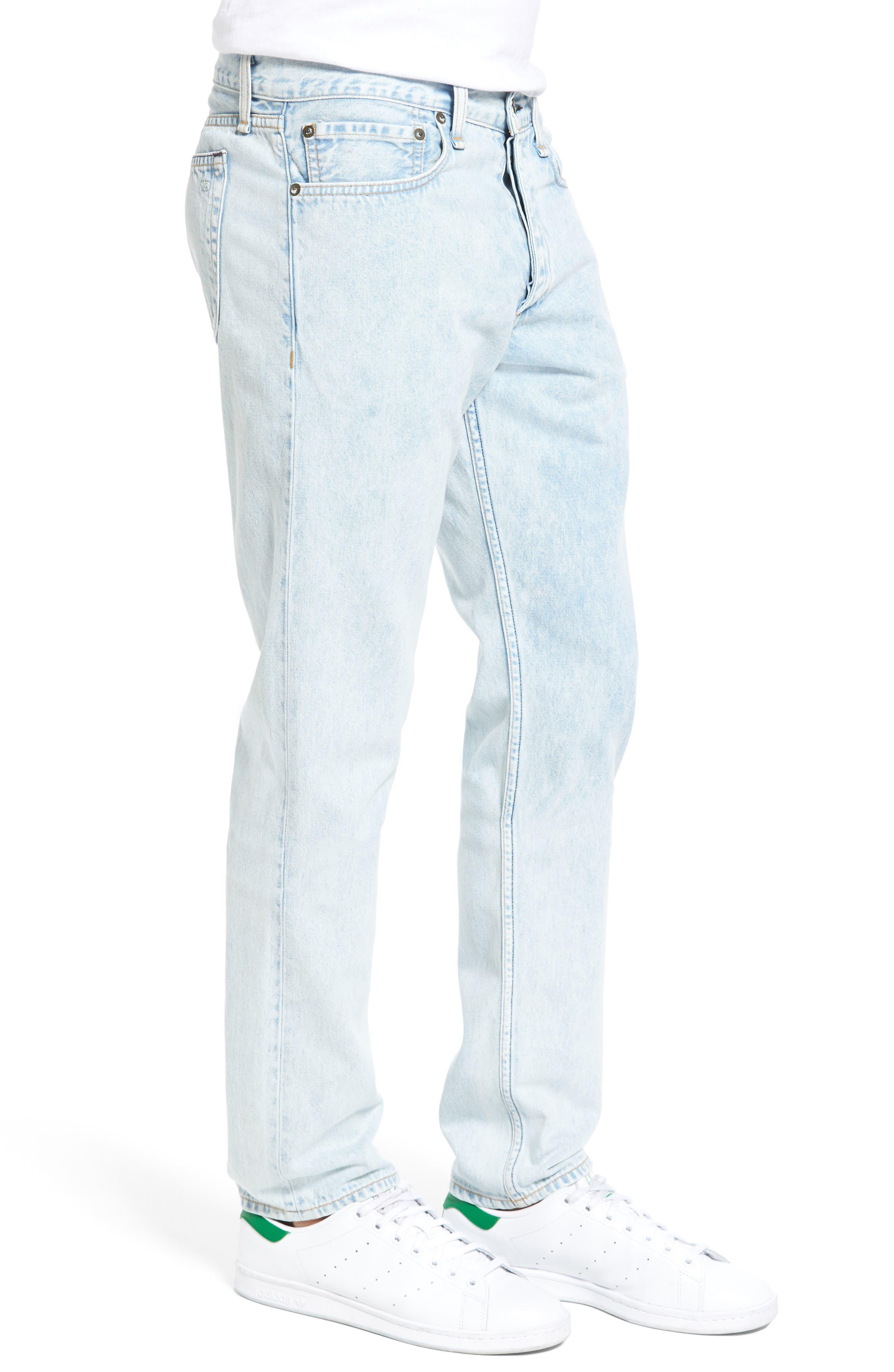 Lennox Skinny Fit Pants,                             Alternate thumbnail 3, color,                             020