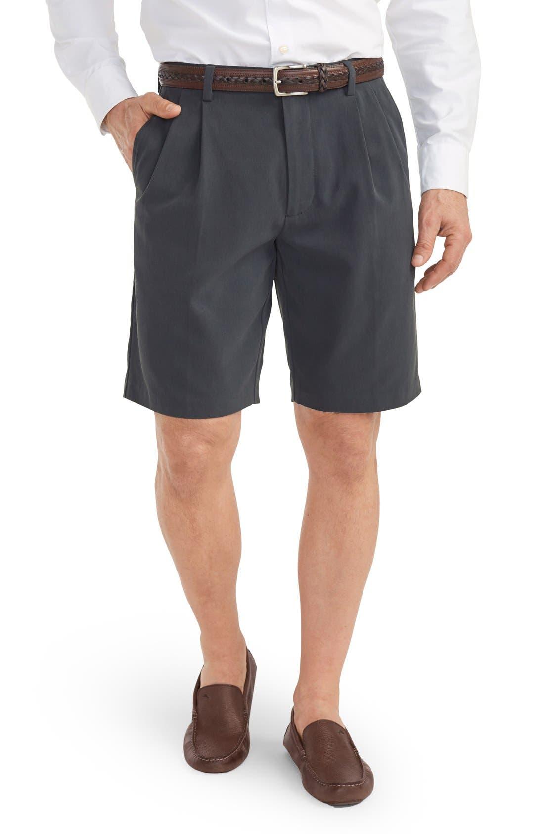 St. Thomas Pleated Shorts,                             Alternate thumbnail 8, color,