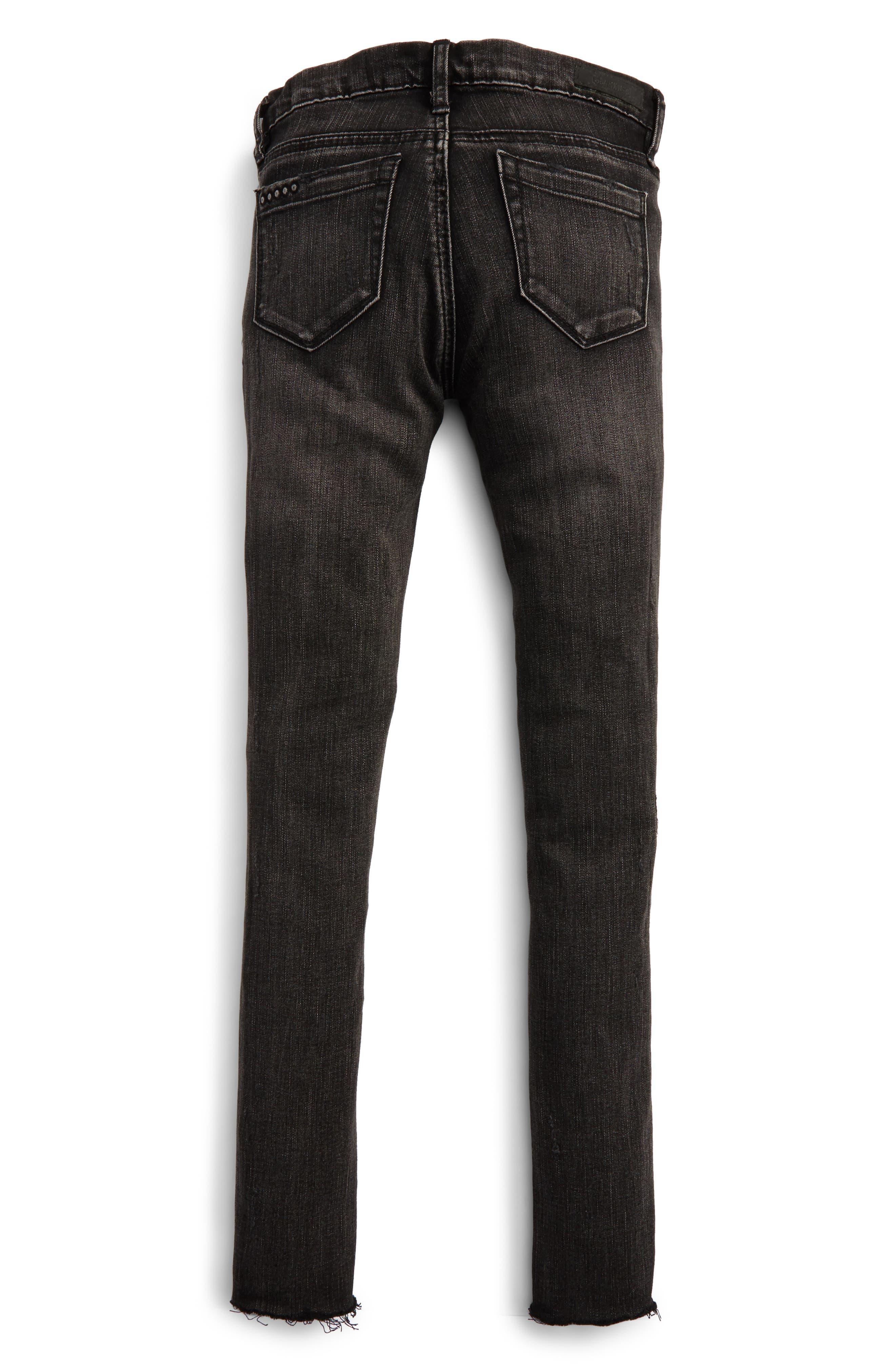 Destroyed Skinny Jeans,                             Alternate thumbnail 2, color,                             001