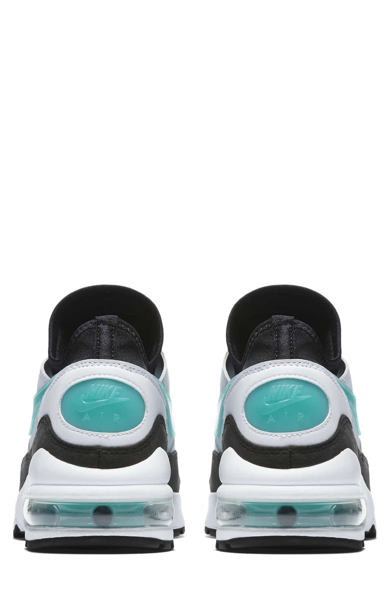 Air Max 93 Sneaker,                             Alternate thumbnail 2, color,                             WHITE/ DUSTY CACTUS