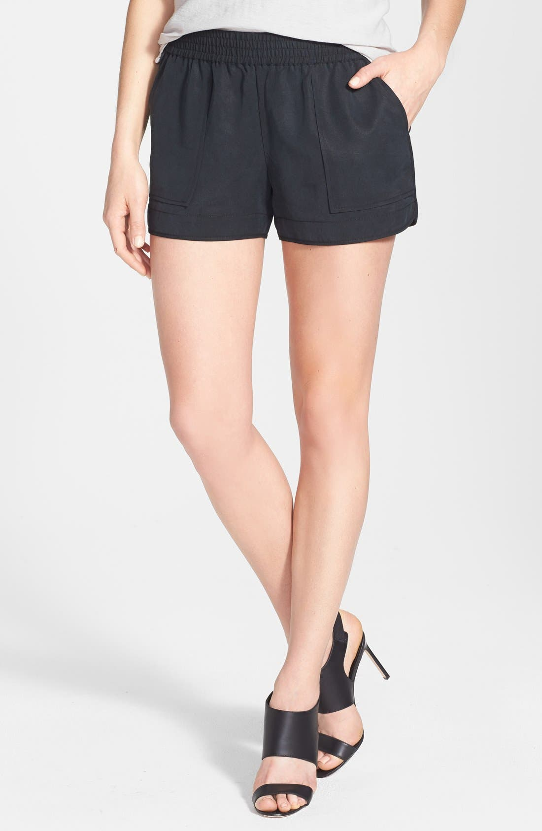 Beso Woven Shorts,                             Main thumbnail 1, color,
