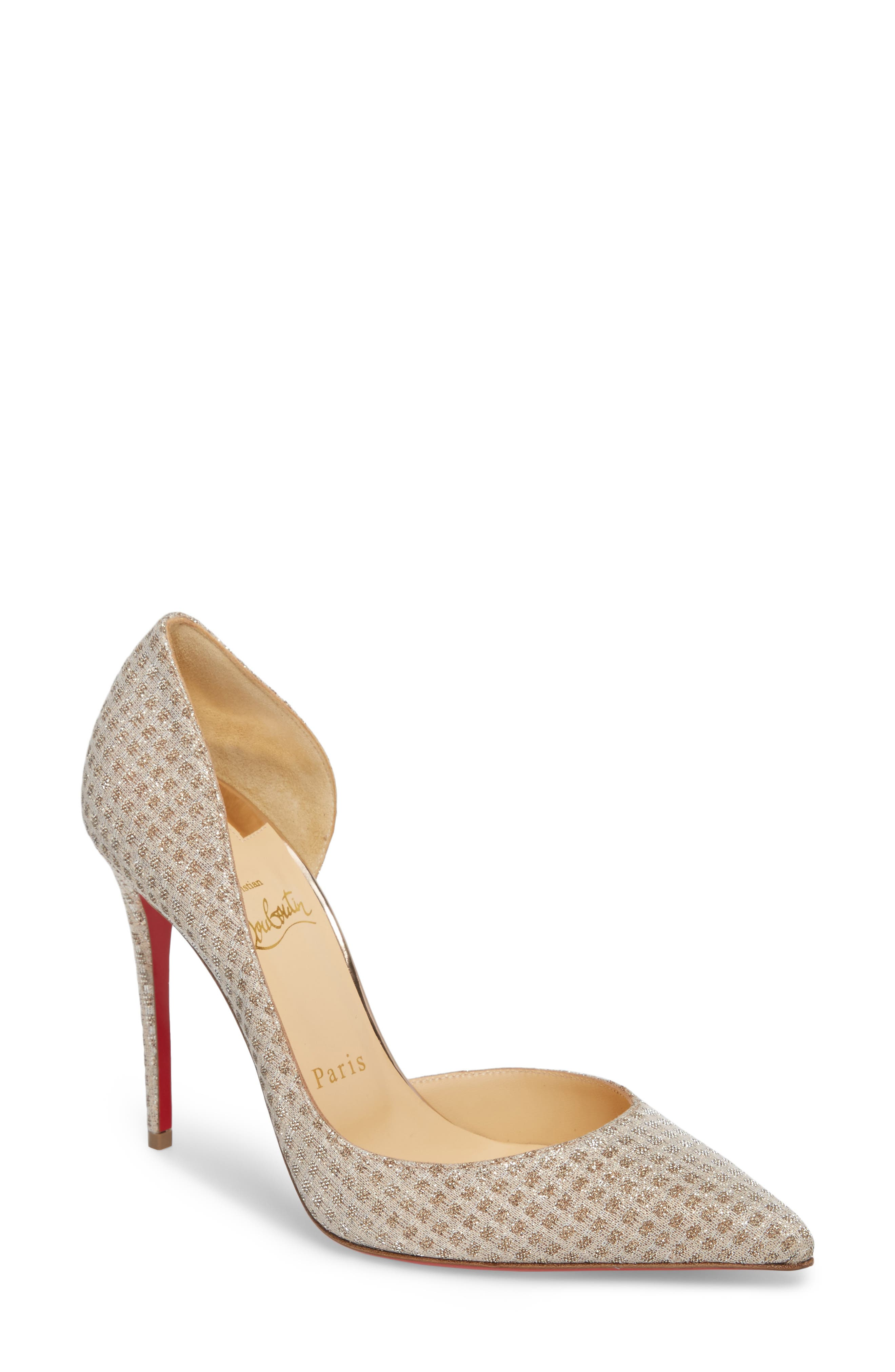 Iriza Half d'Orsay Pump,                         Main,                         color, 250
