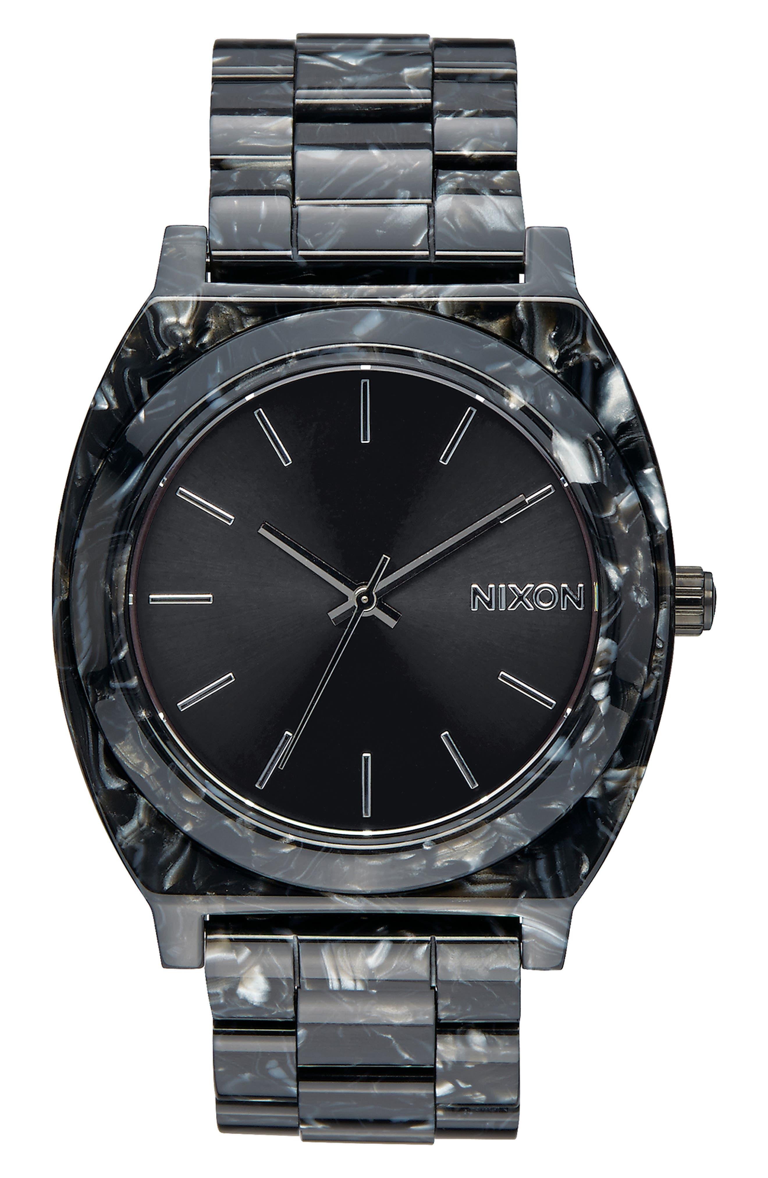 Time Teller Acetate Bracelet Watch, 40mm,                             Main thumbnail 1, color,                             020