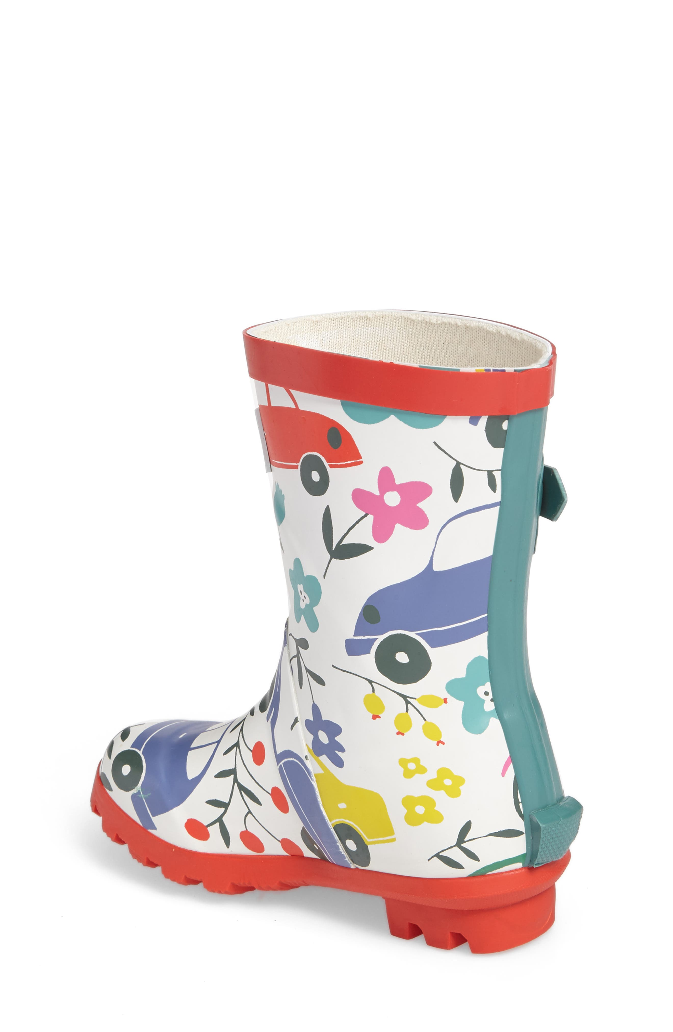 Printed Wellies,                             Alternate thumbnail 2, color,                             100