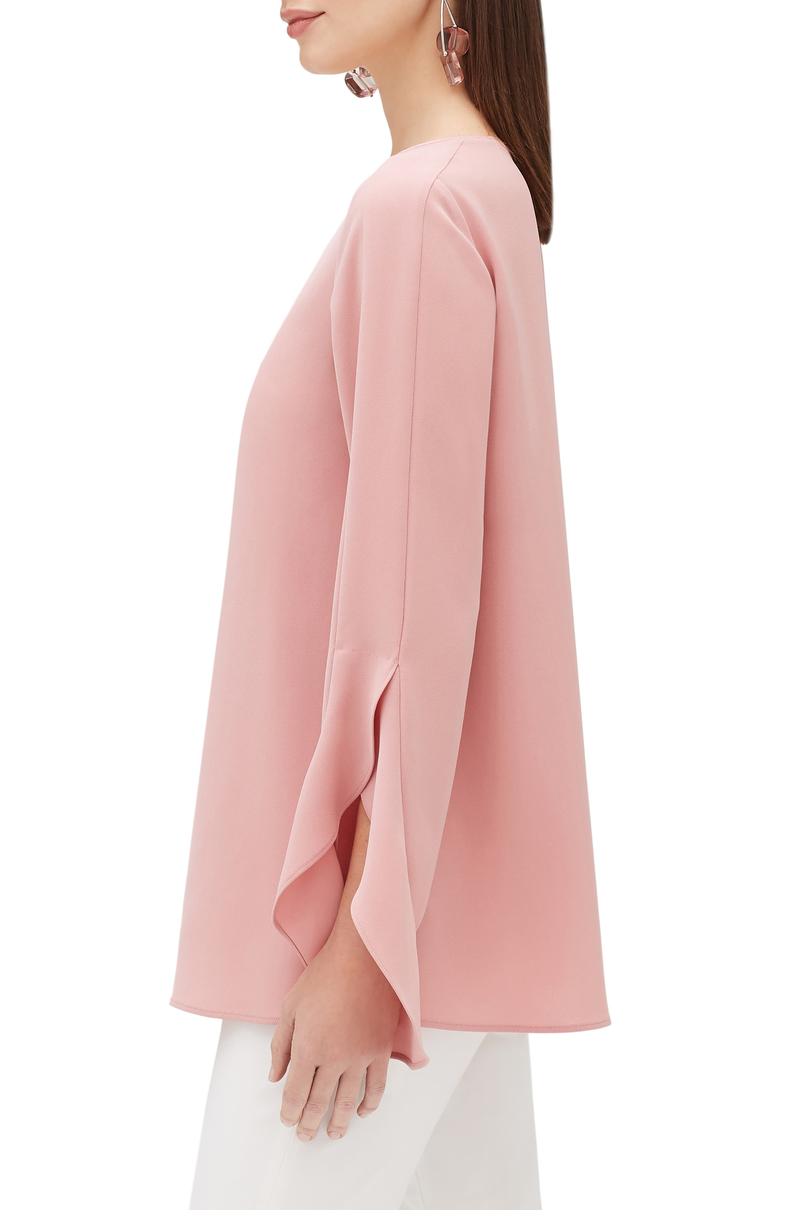 LAFAYETTE 148 NEW YORK,                             Emory Finesse Crepe Blouse,                             Alternate thumbnail 3, color,                             650