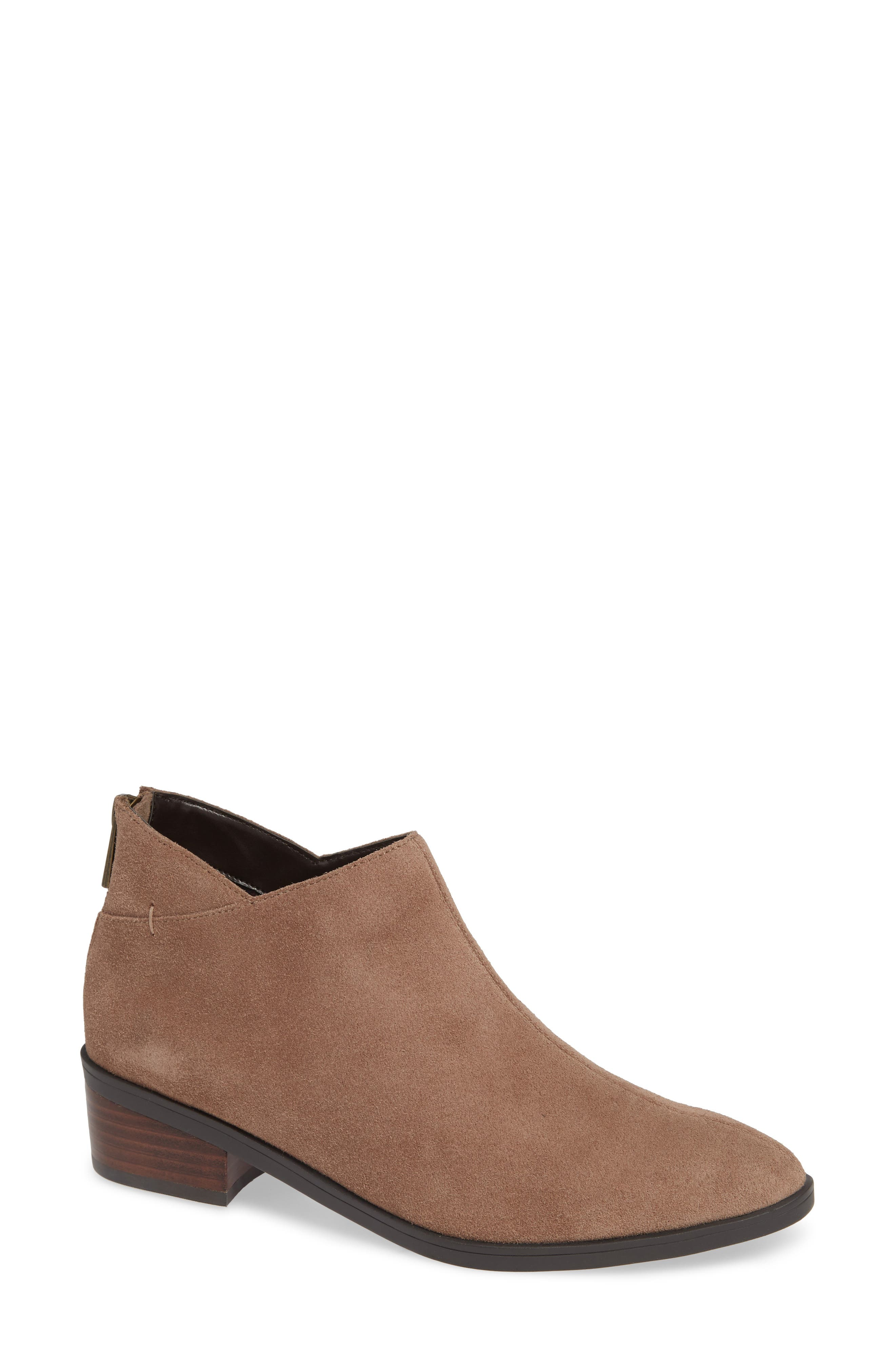 Haven Ankle Bootie,                         Main,                         color, ALMOND SUEDE