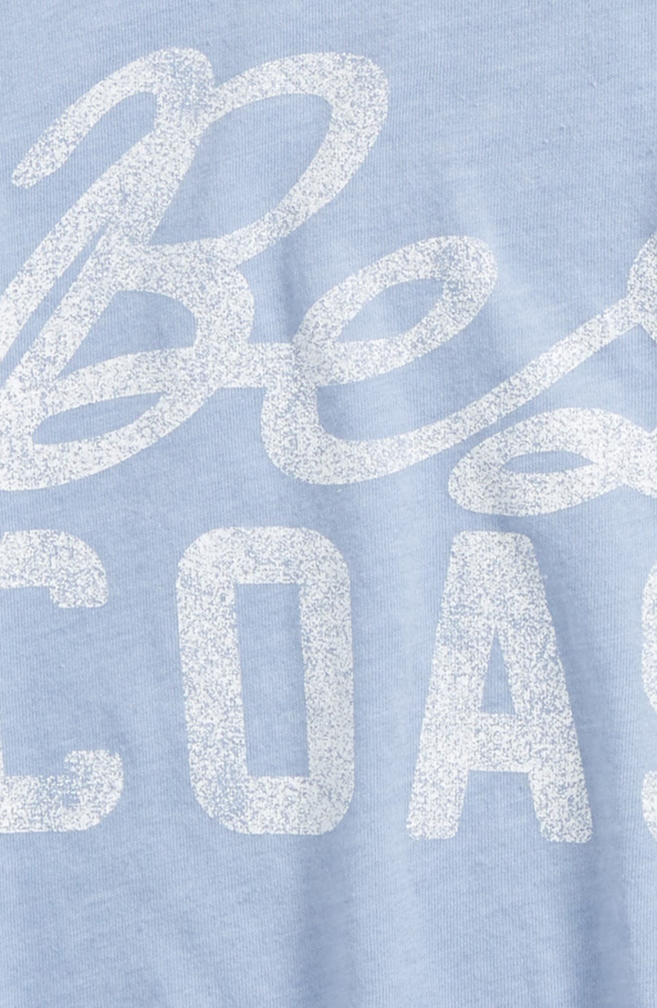 The Best Coast Graphic Tee,                             Alternate thumbnail 2, color,                             423