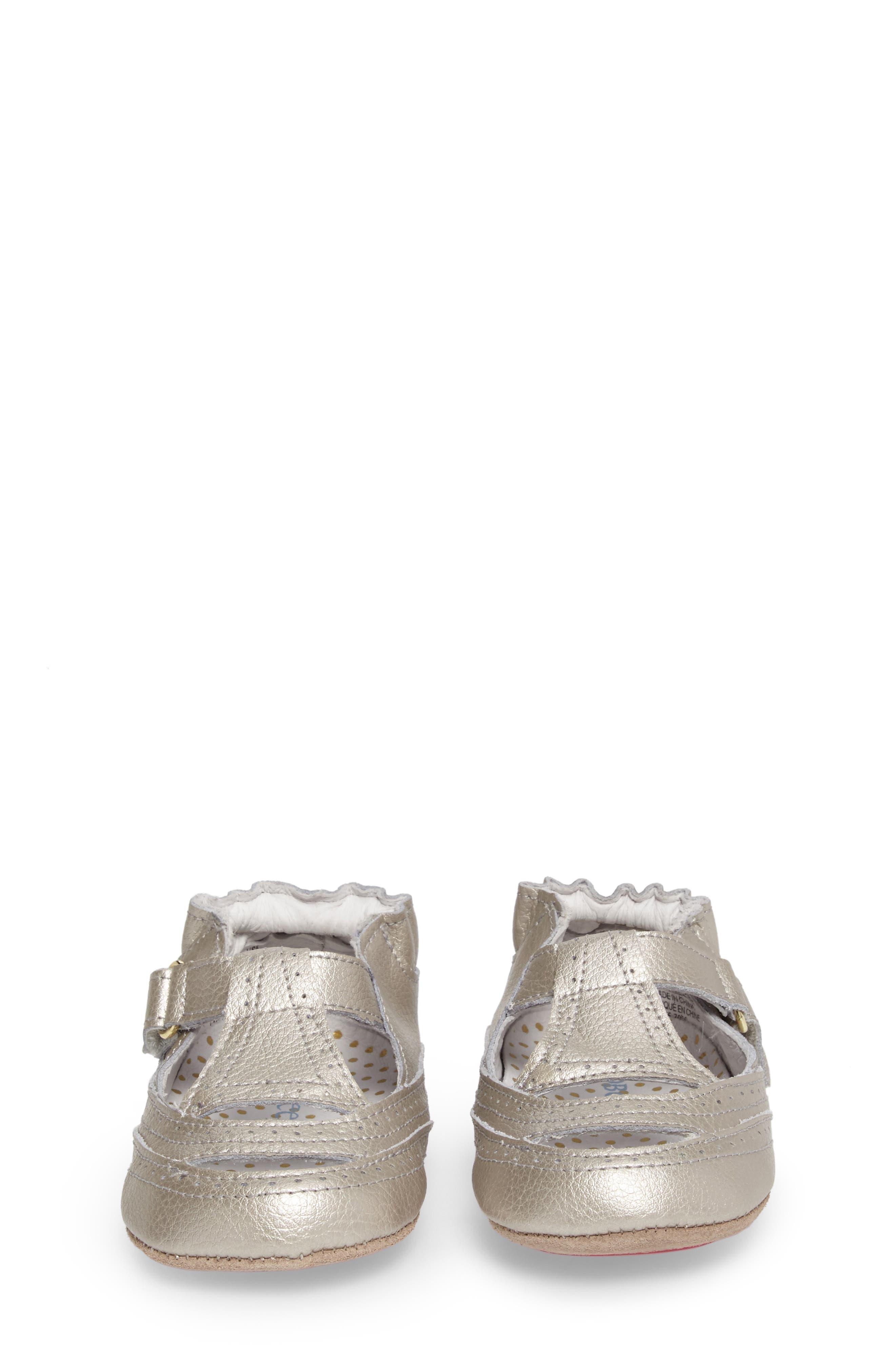 Ruby Crib Shoe,                             Alternate thumbnail 4, color,                             020