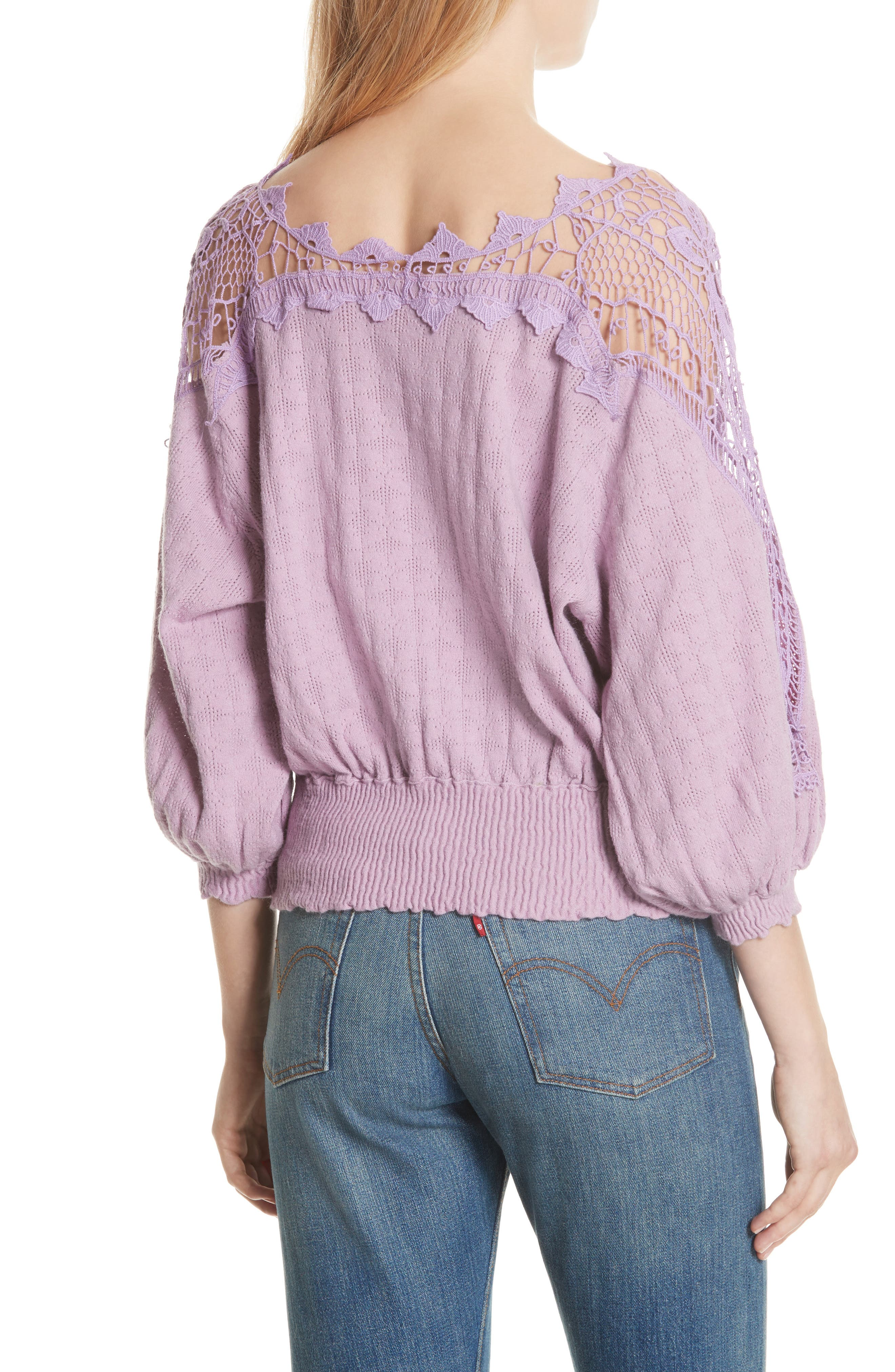 Love Lace Sweater,                             Alternate thumbnail 2, color,                             531