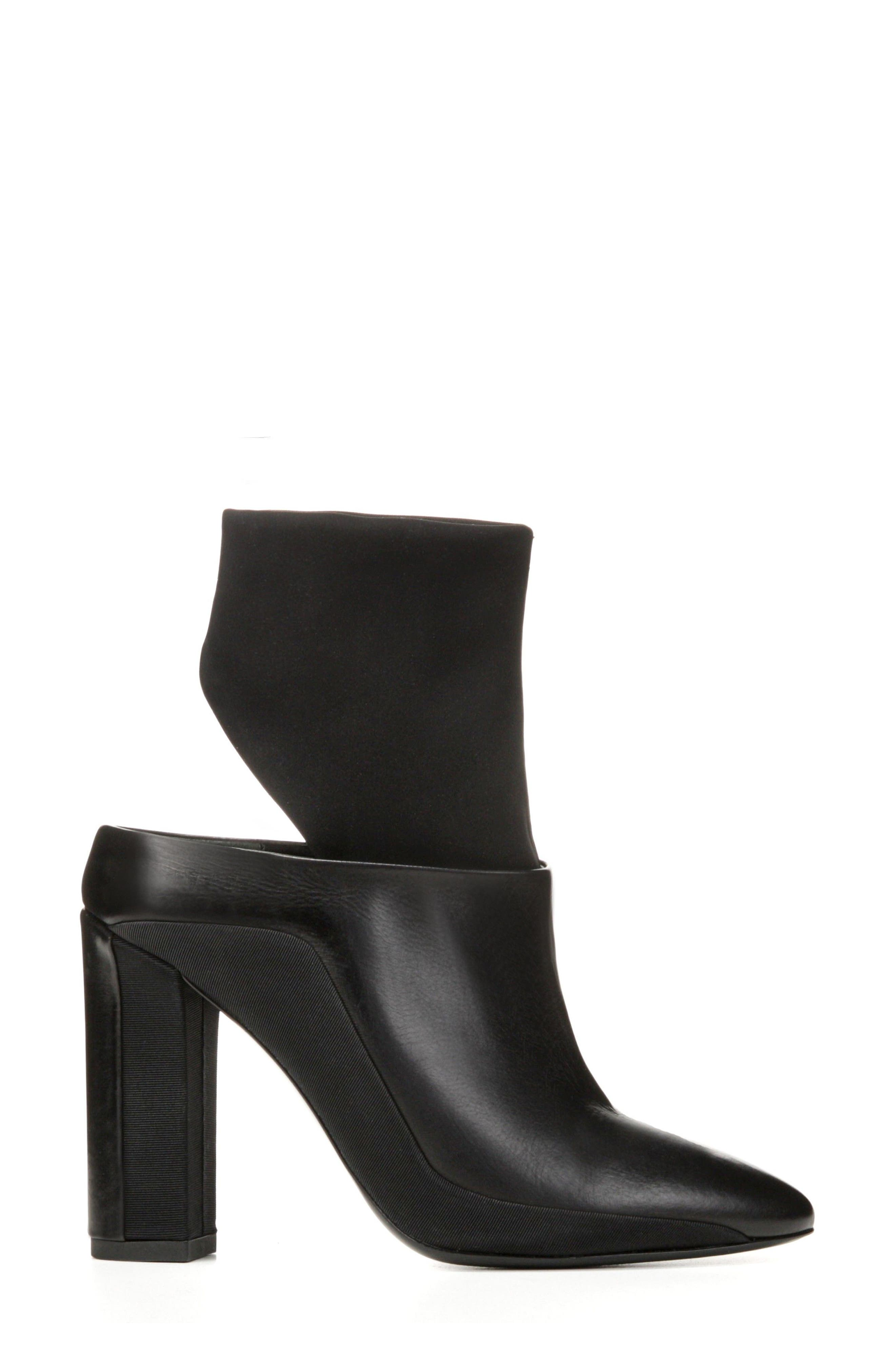 Agyness Cutout Boot,                             Alternate thumbnail 7, color,