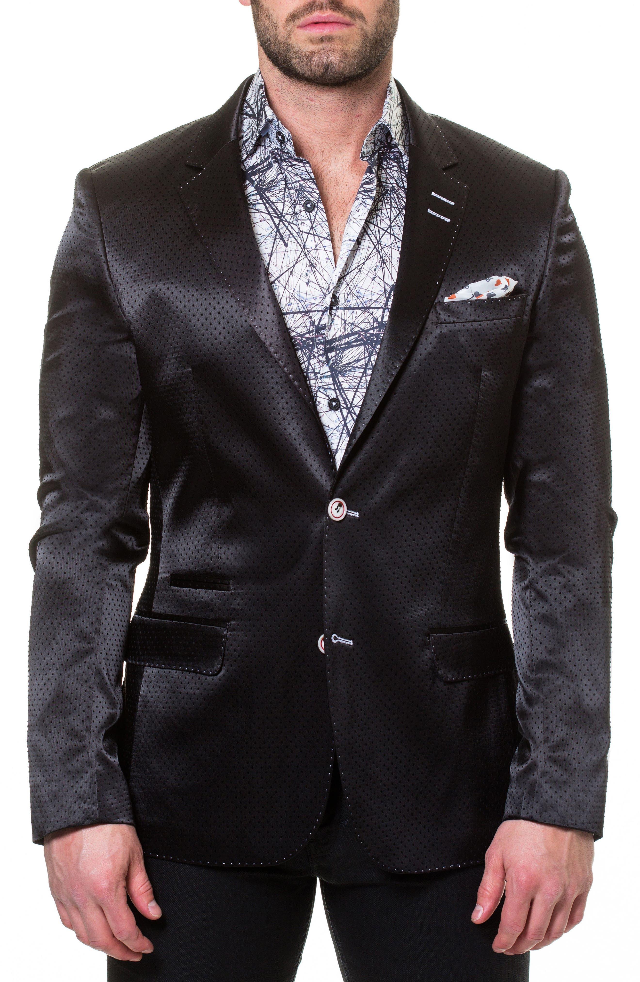 Socrate Pop Sport Coat,                         Main,                         color, BLACK