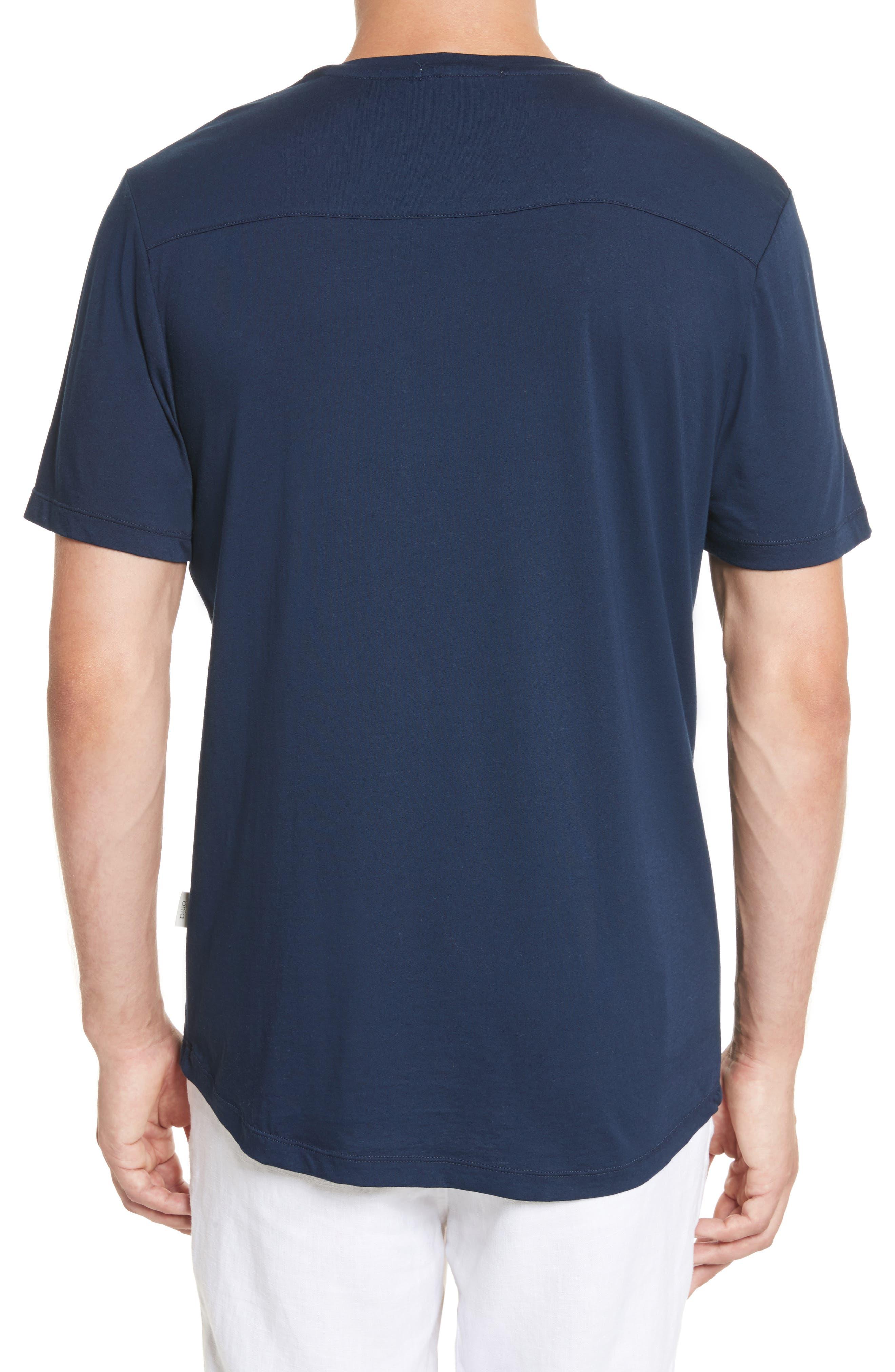 Joey V-Neck T-shirt,                             Alternate thumbnail 2, color,                             419
