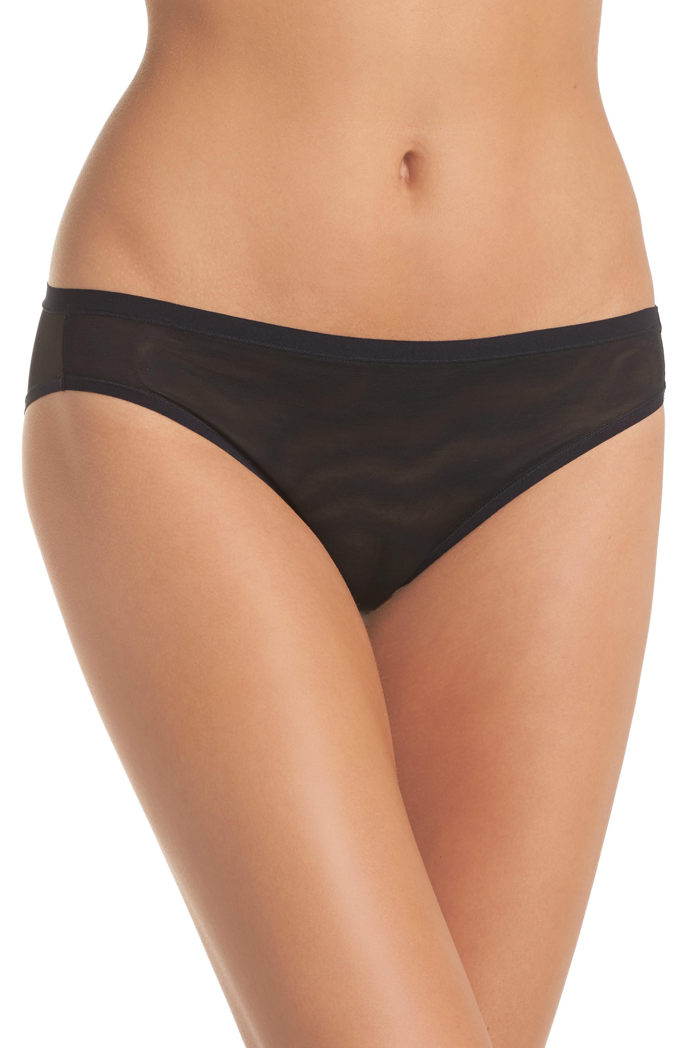 NATORI Bliss Light Bikini, Main, color, BLACK