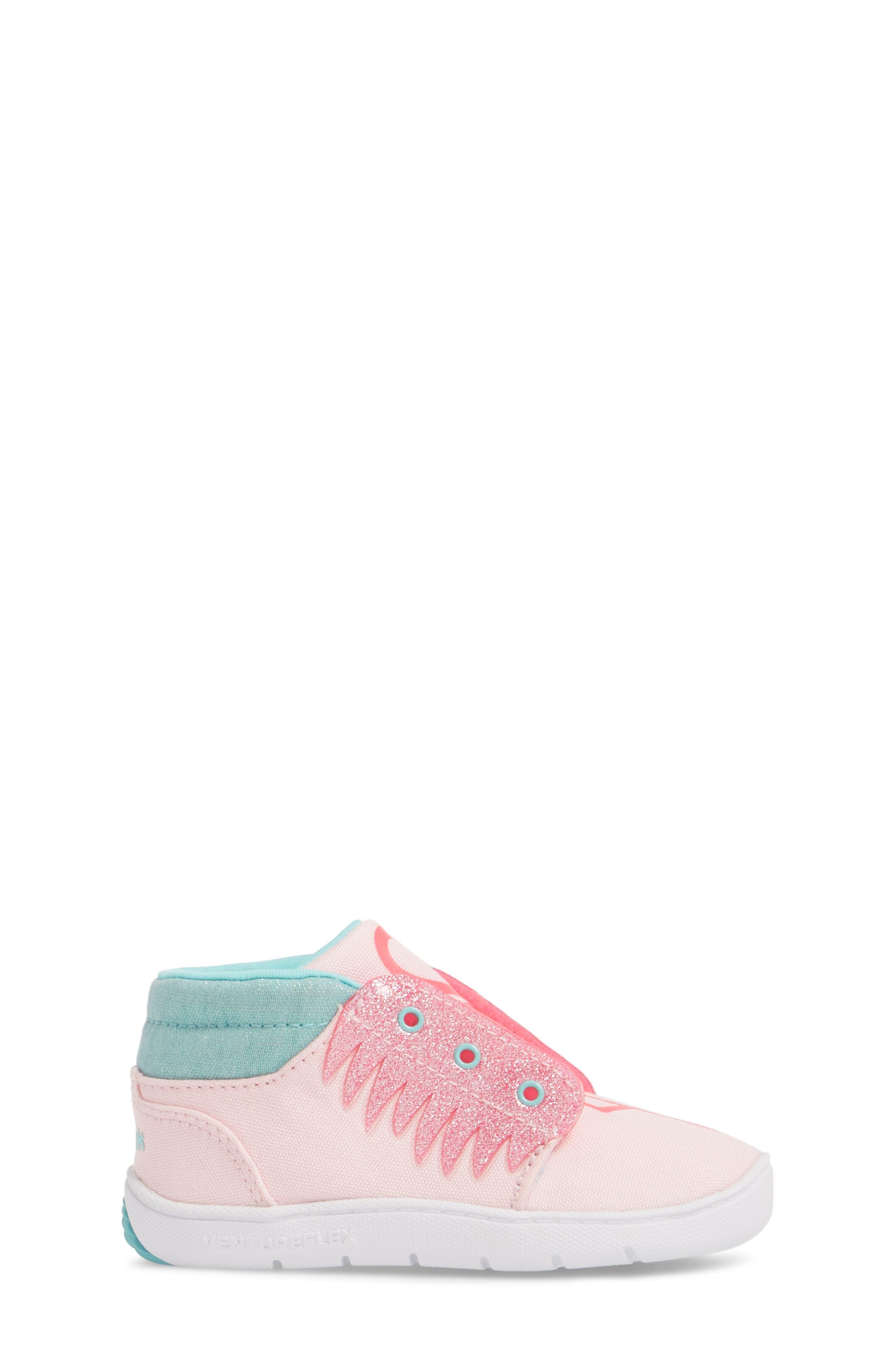 Ventureflex High Top Critter Sneaker,                             Alternate thumbnail 6, color,