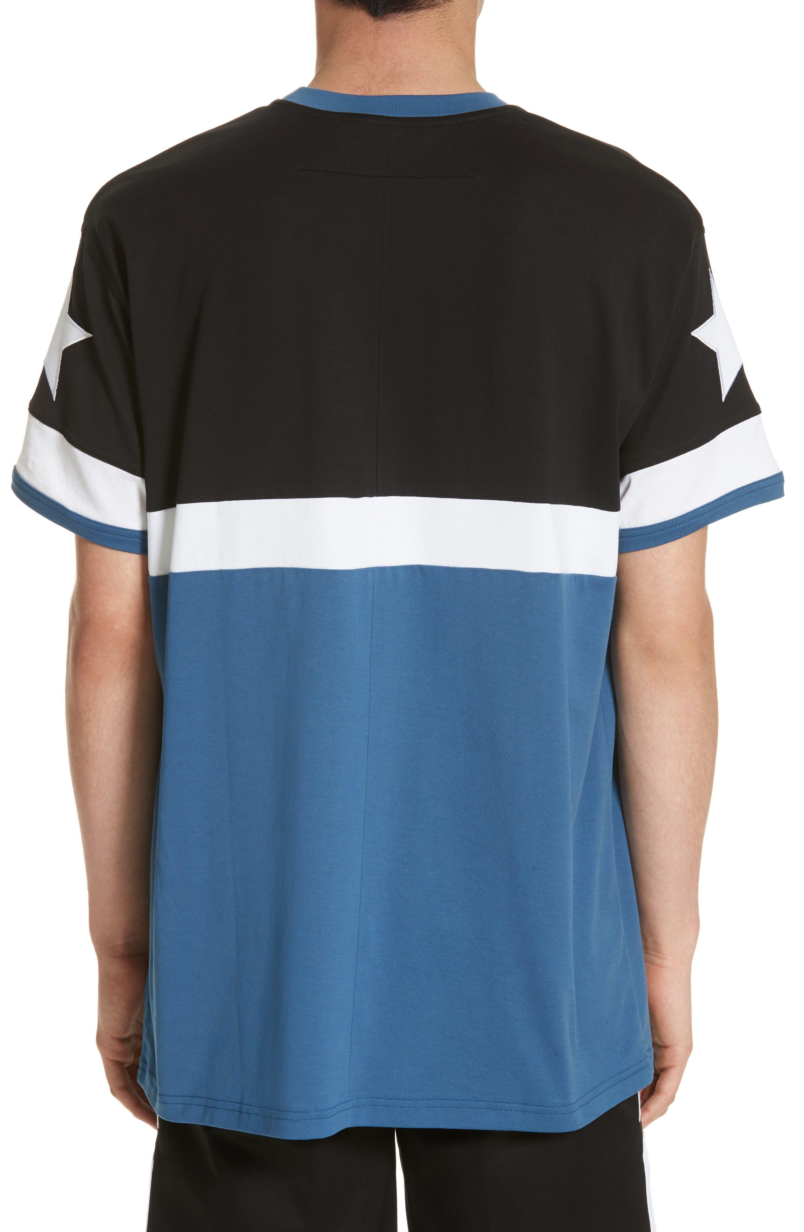 Columbian Fit Colorblock T-Shirt,                             Alternate thumbnail 3, color,