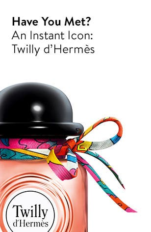 Twilly d'Hermès, a new and exclusive fragrance.