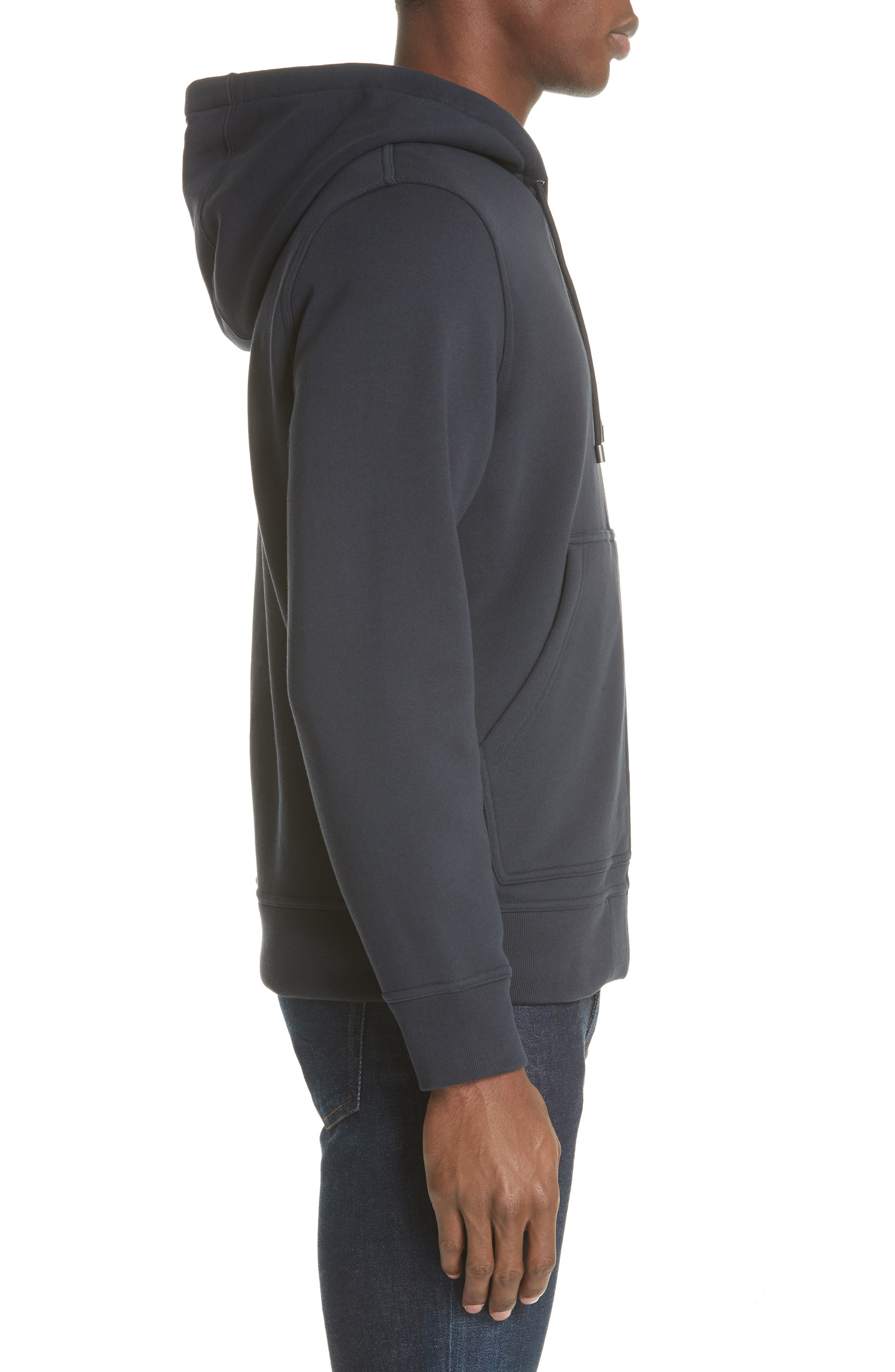 Zip Hoodie,                             Alternate thumbnail 3, color,                             NAVY