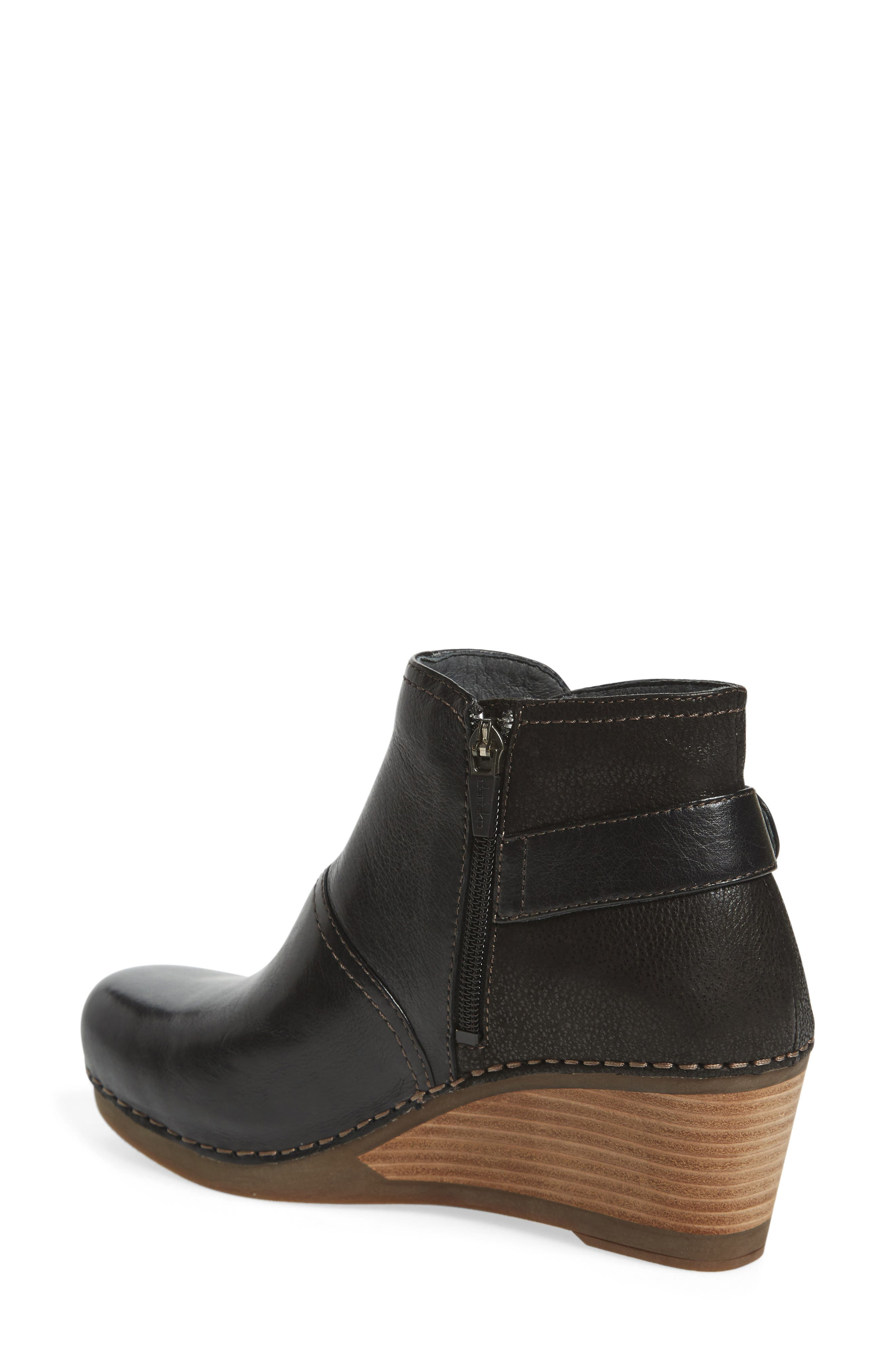 'Shirley' Wedge Bootie,                             Alternate thumbnail 7, color,