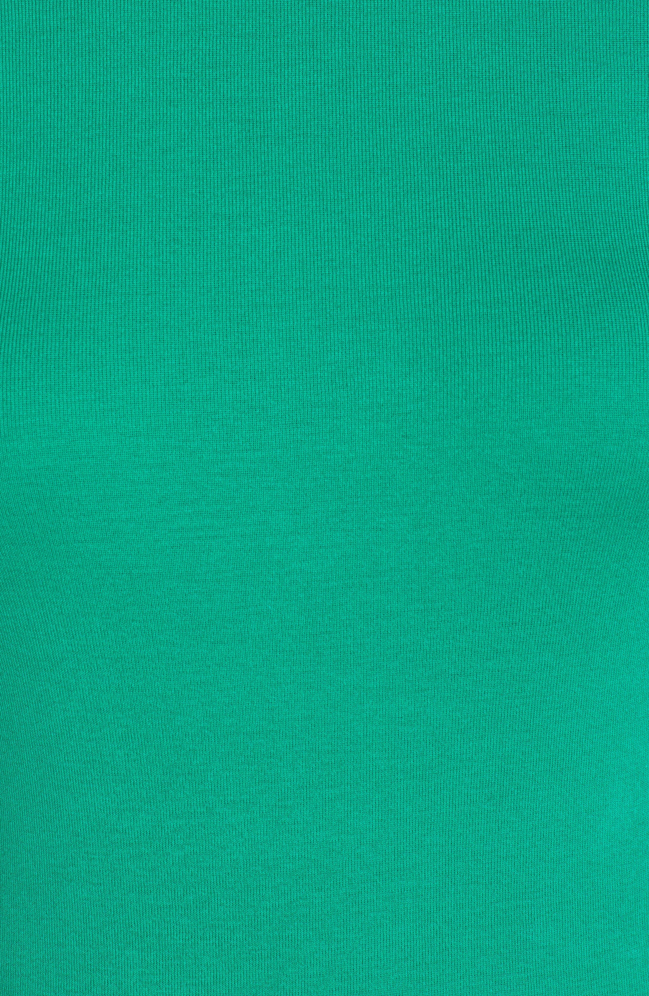 Perfect Fit Turtleneck,                             Alternate thumbnail 5, color,                             DUBLIN GREEN