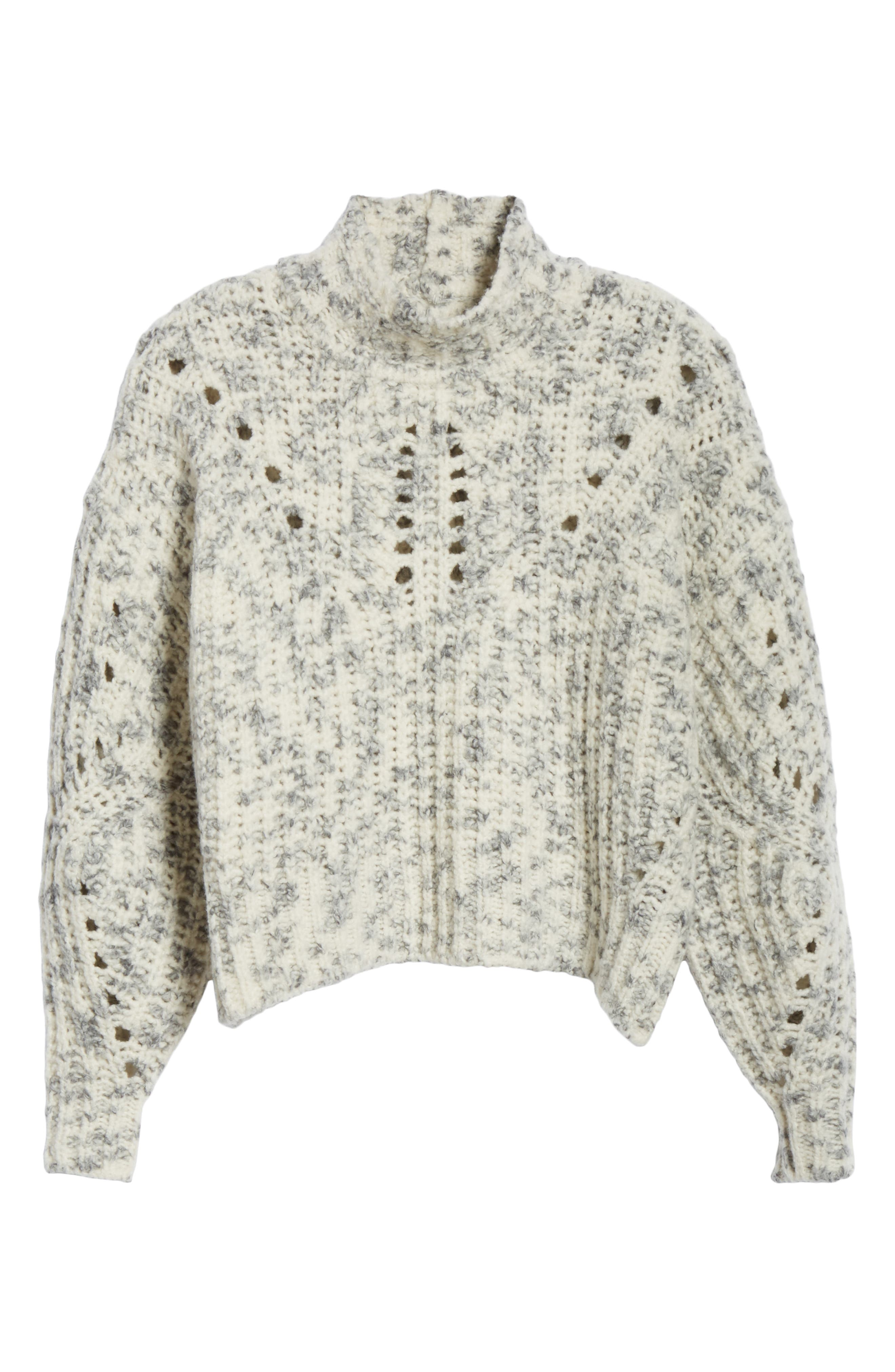 Jilly Wool Sweater,                             Alternate thumbnail 6, color,                             900