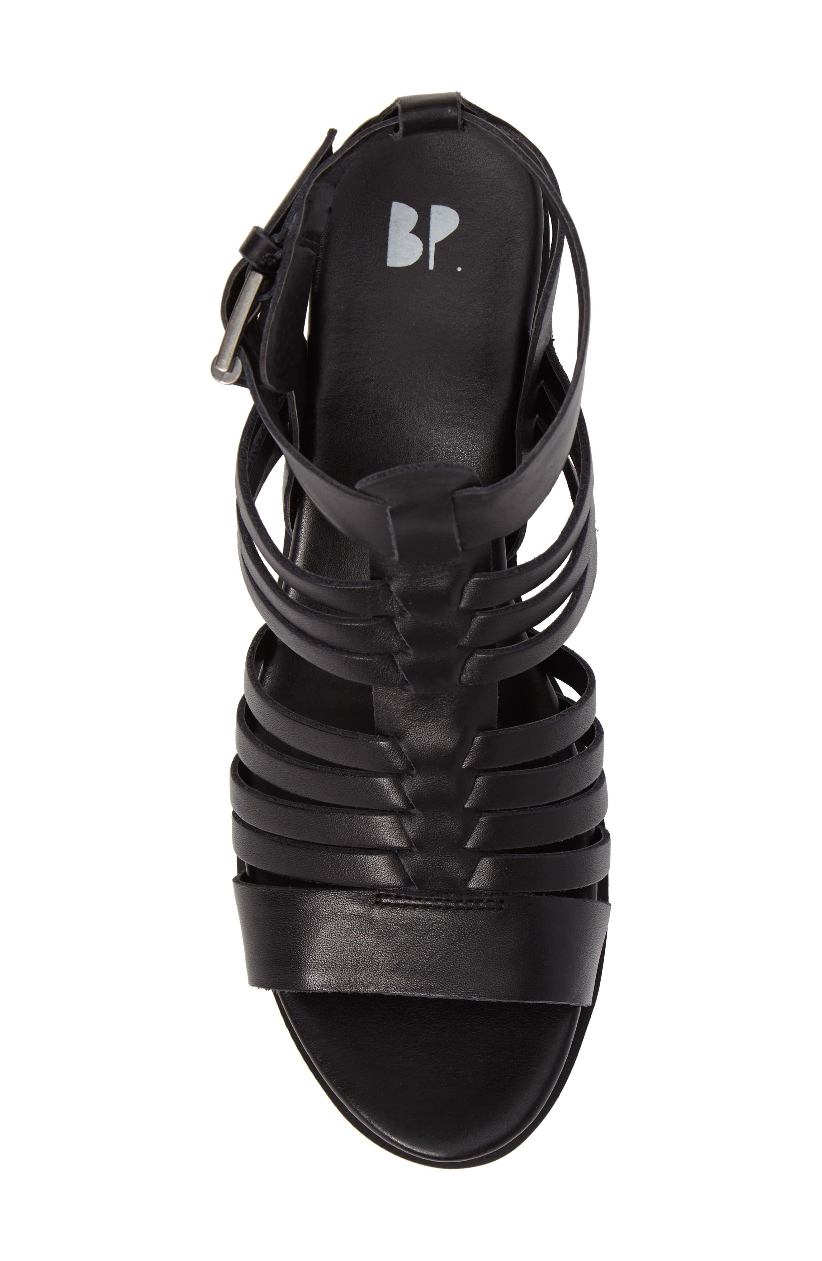 Ronnie Gladiator Platform Sandal,                             Alternate thumbnail 5, color,
