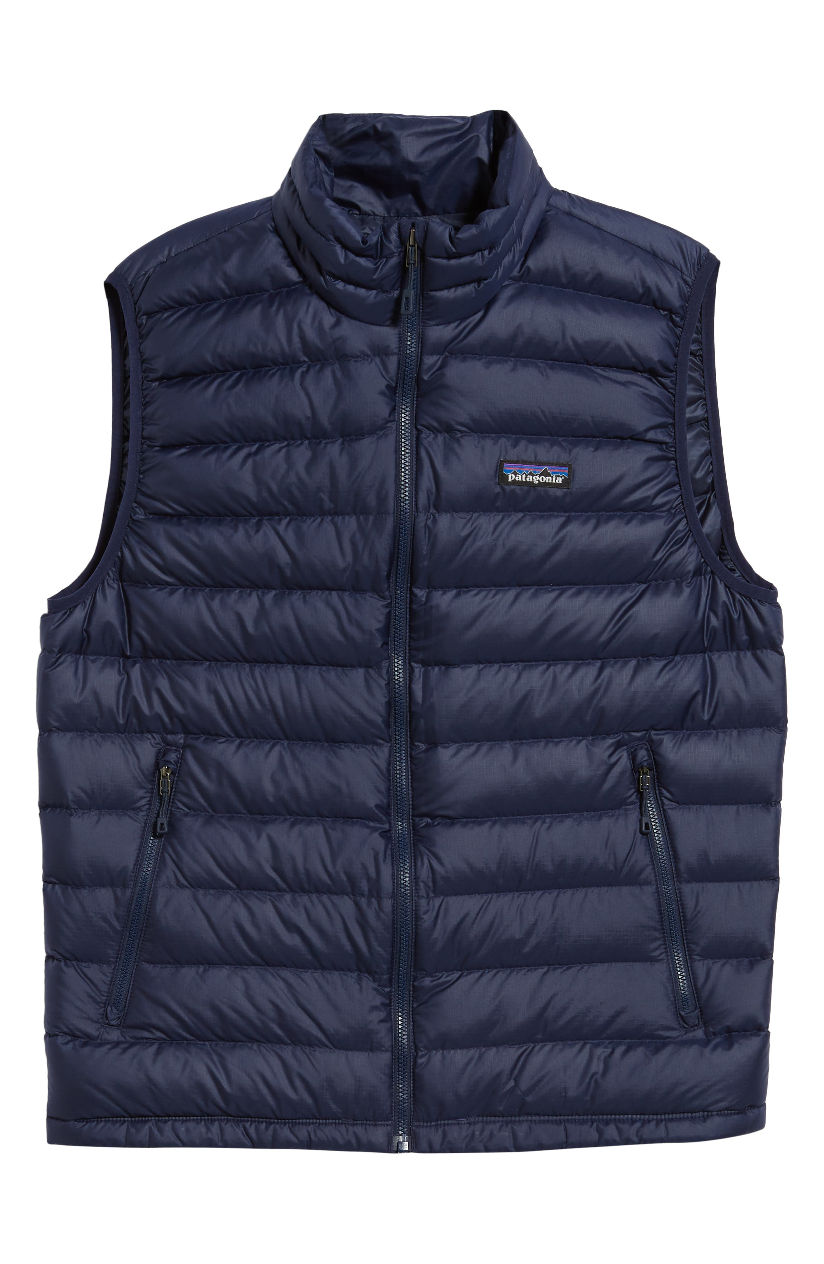Windproof & Water Resistant 800 Fill Power Down Quilted Vest,                             Alternate thumbnail 40, color,