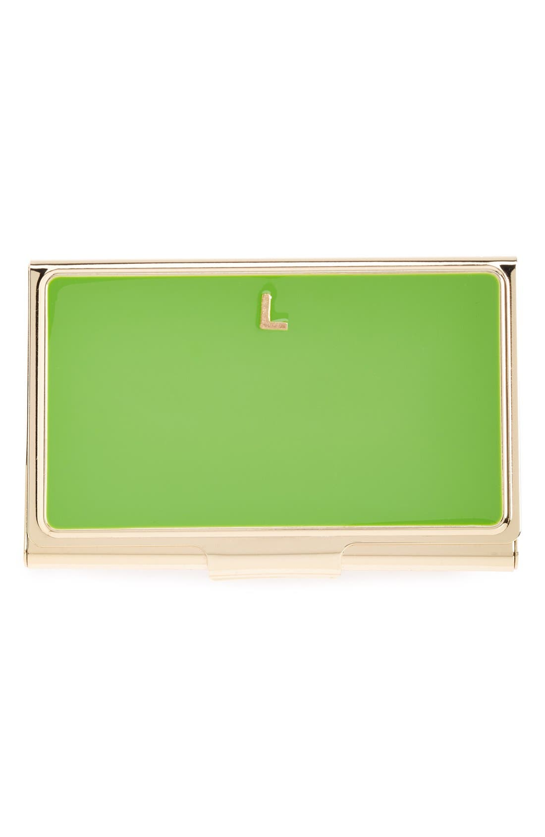 'one in a million' business card holder,                             Main thumbnail 8, color,
